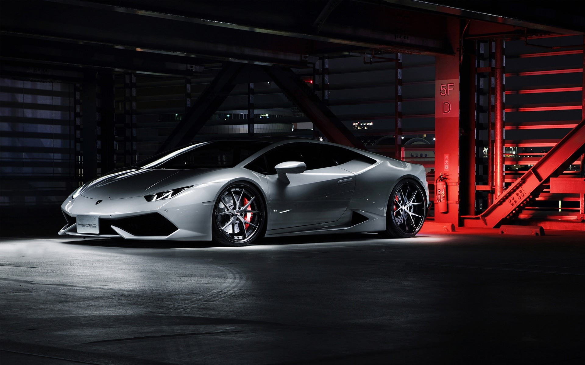Fondo de pantalla de Lamborghini Huracan LP640 4 Imágenes