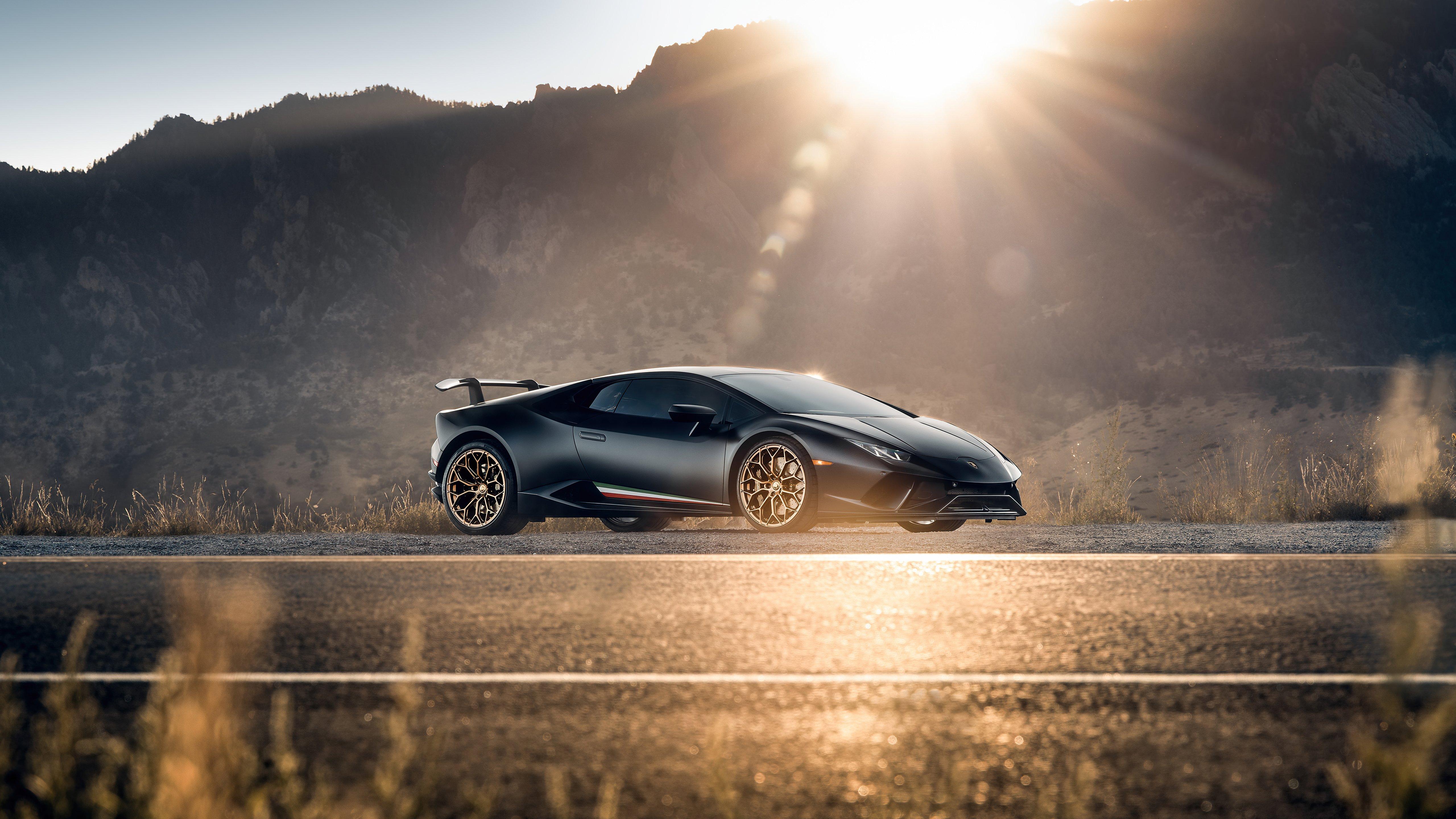 Wallpaper Lamborghini Huracan Performante