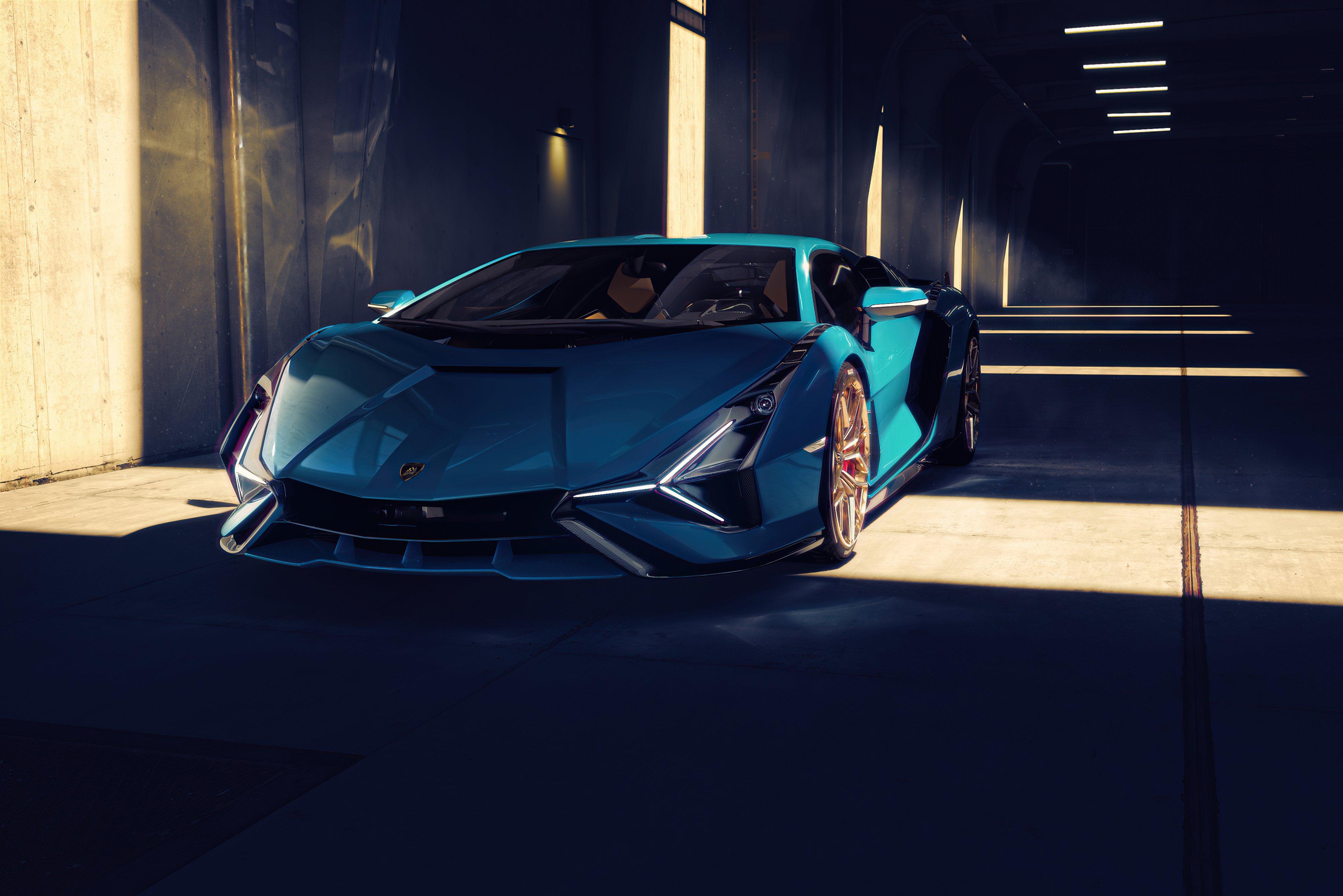 Fondos de pantalla Lamborghini Sian