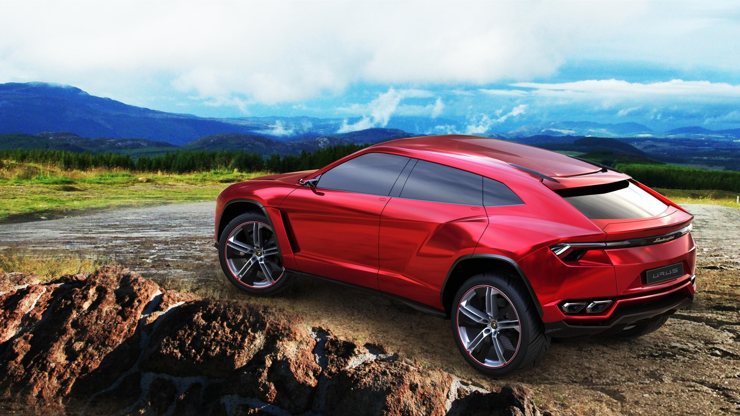 Wallpaper Lamborghini Urus Concept