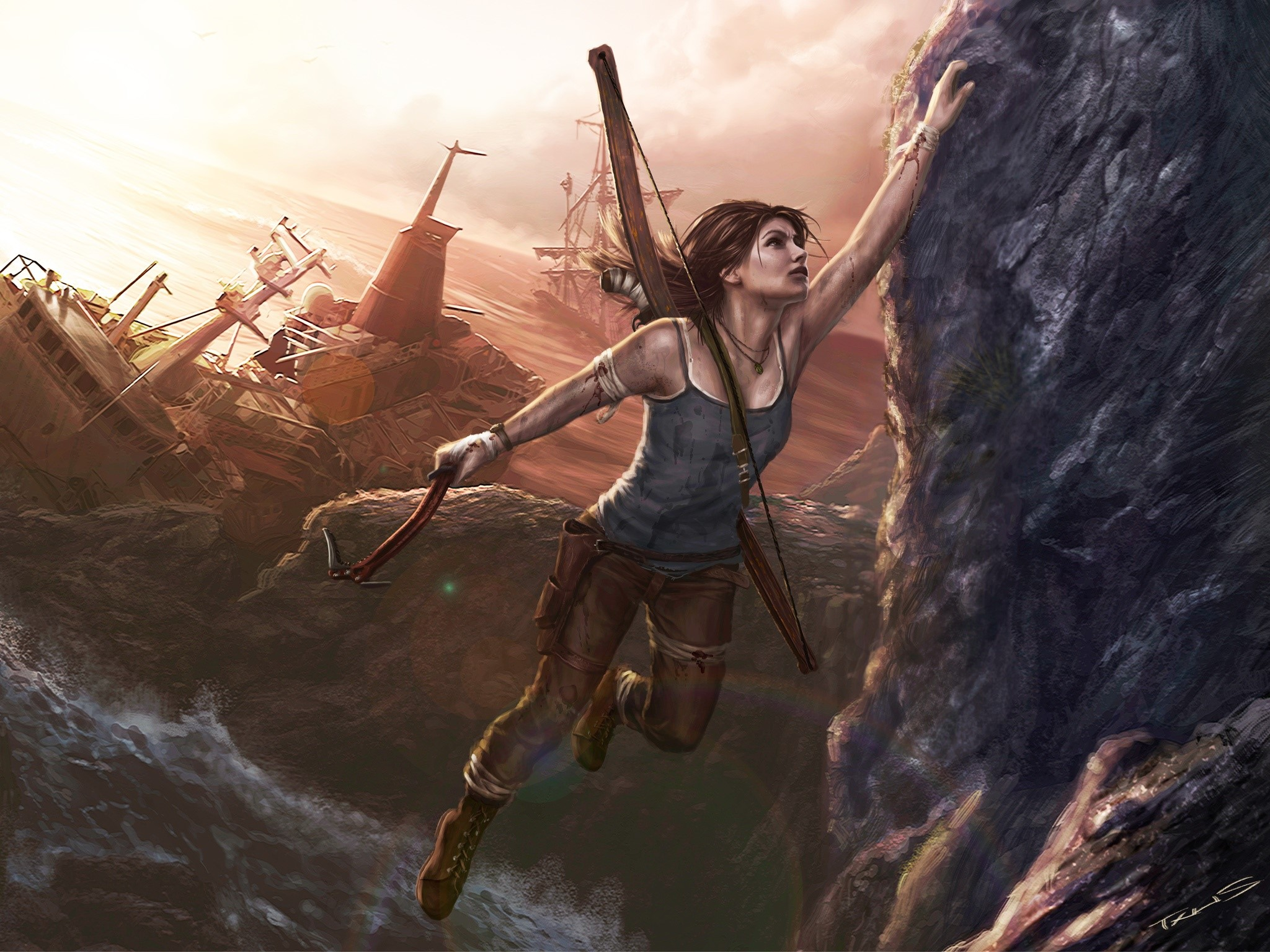 Wallpaper Lara Croft art Images