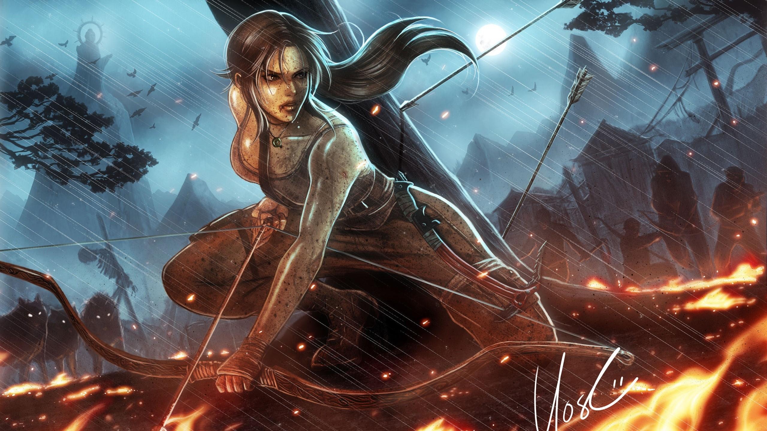 Wallpaper Lara Croft Tomb Raider Reborn