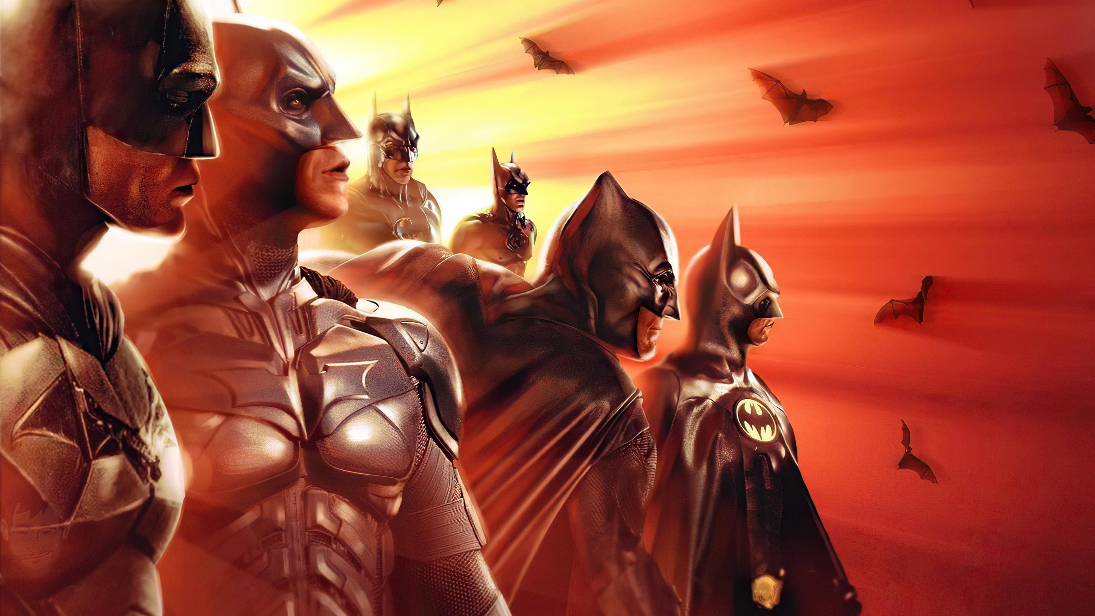 Wallpaper Batman generations