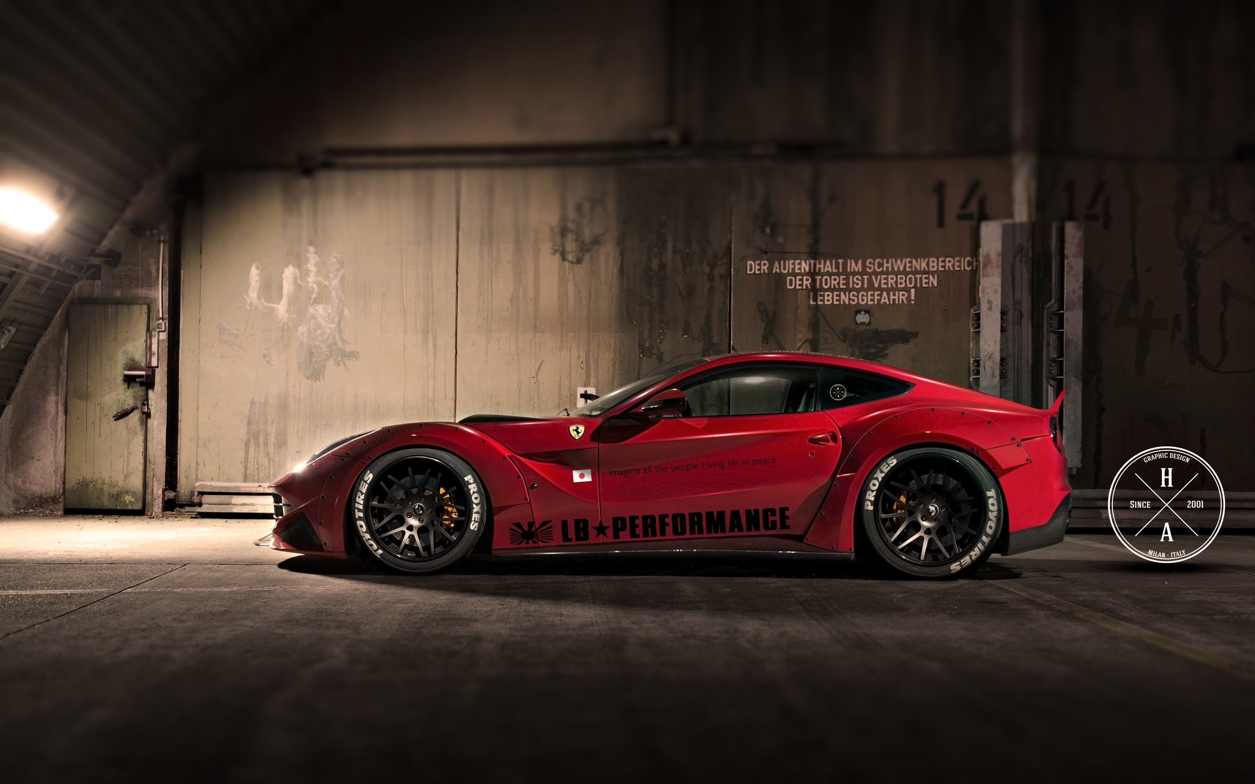 Wallpaper LB performance Ferrari 458 Italia Images