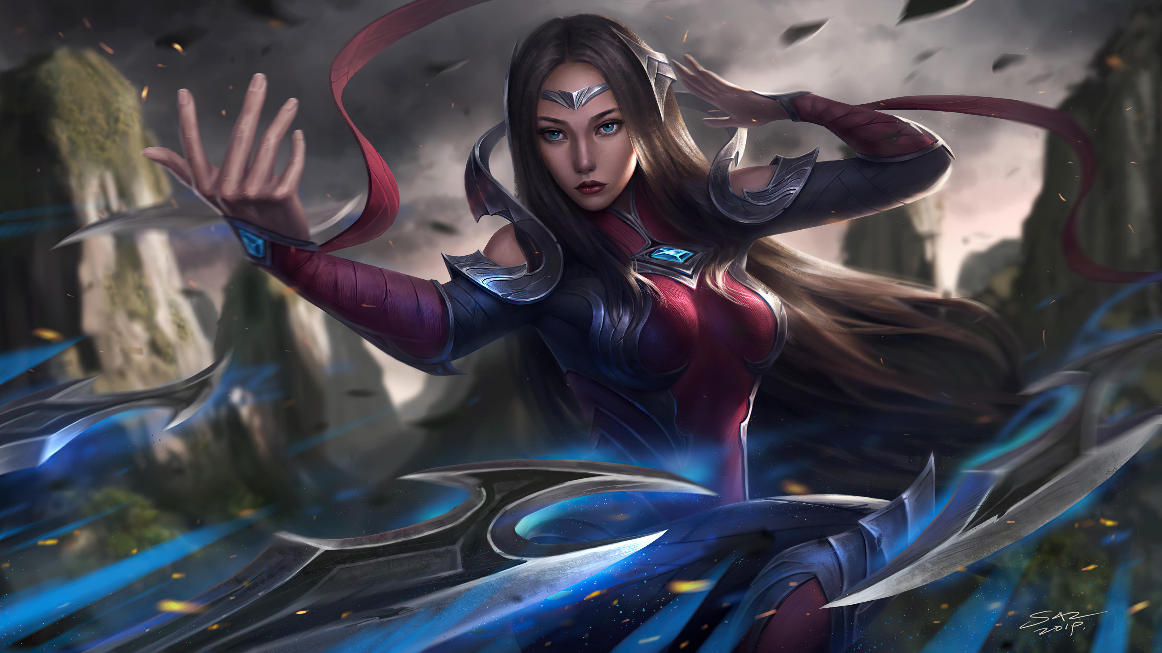 Wallpaper League of Legends Irelia Fanart