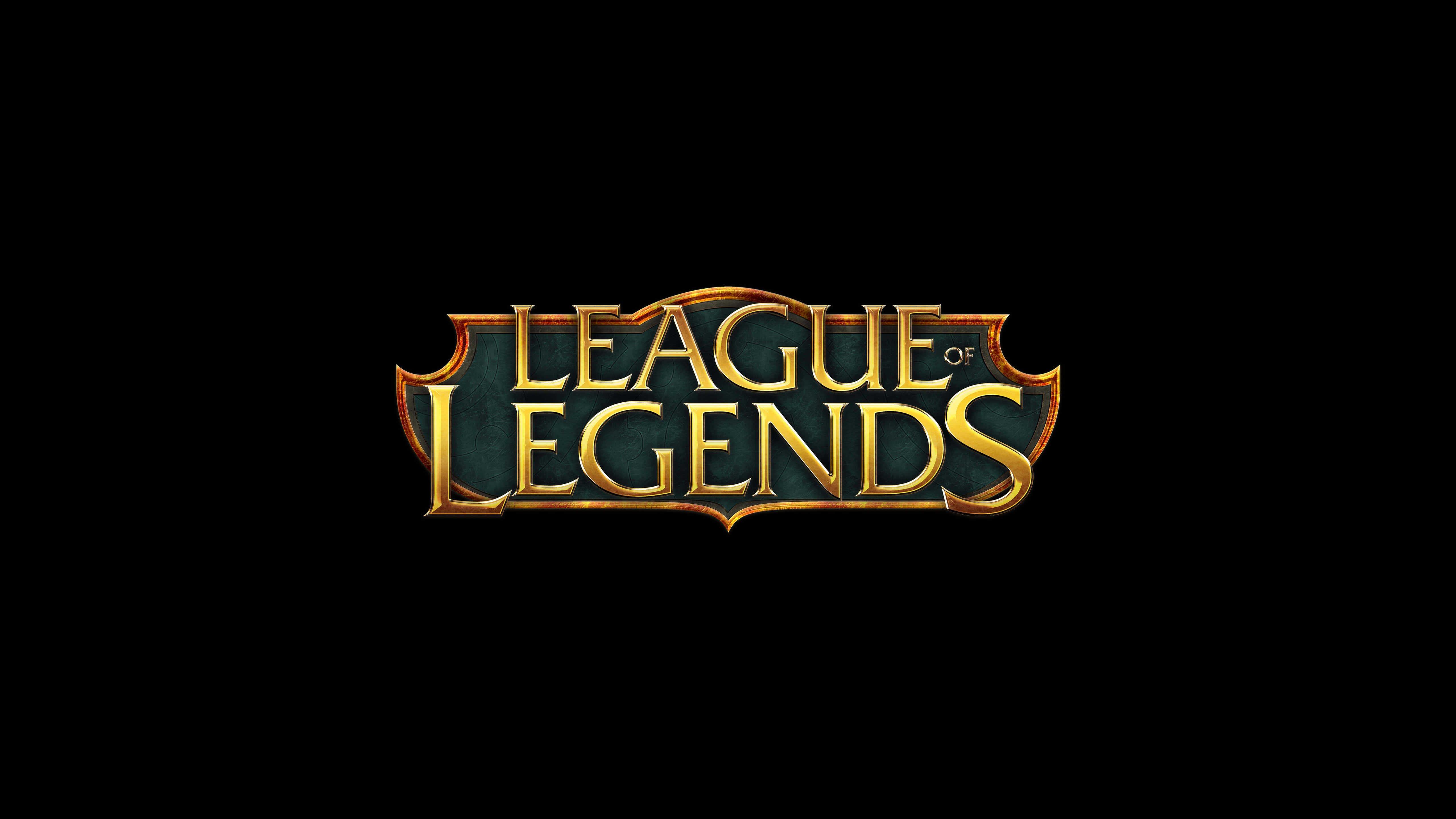 Wallpaper League Of Legends Logo