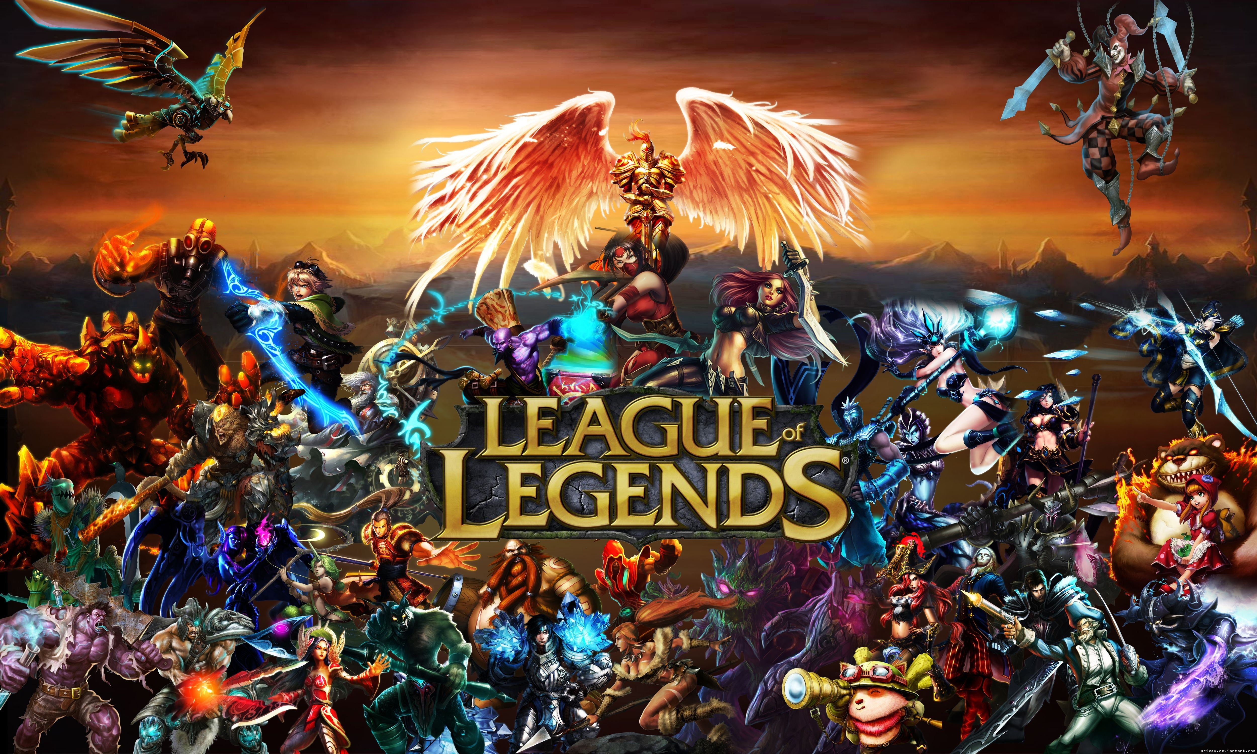 Fondos de pantalla League Of Legends Personajes Poster