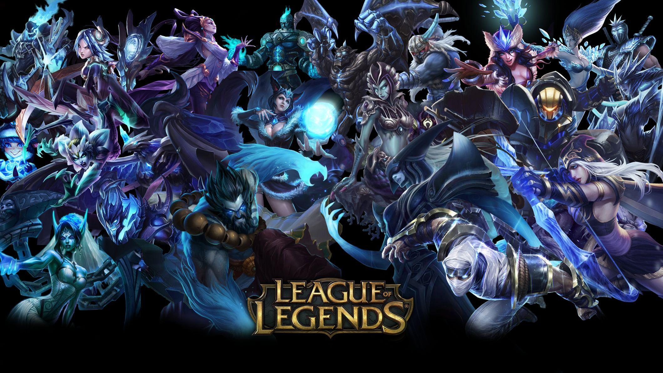 Fondos de pantalla League Of Legends Personajes Poster