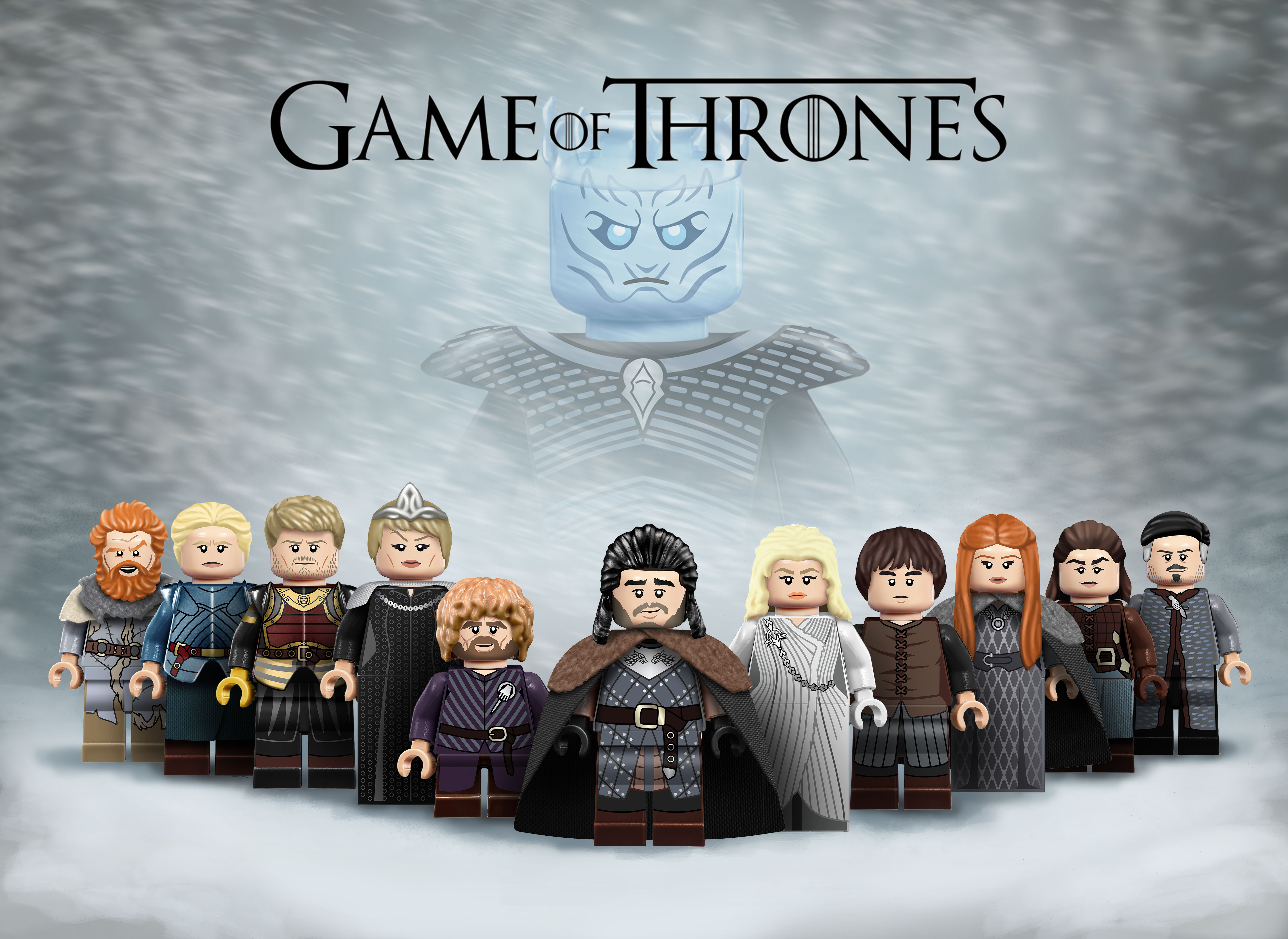 Wallpaper Lego Game of Thrones