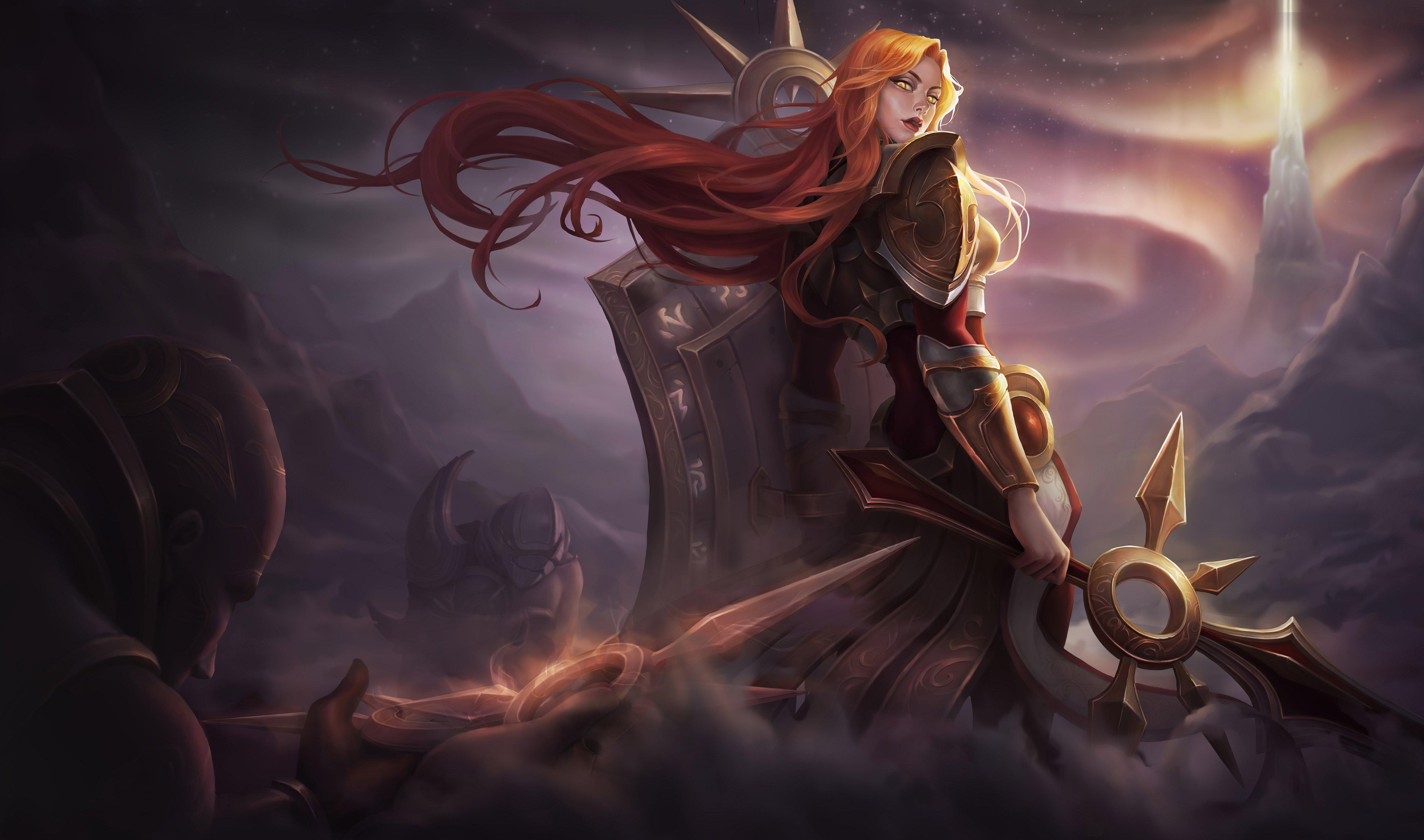 Fondos de pantalla Leona de League of Legends