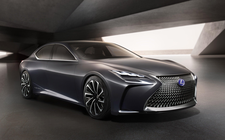 Wallpaper Lexus LF FC Concept
