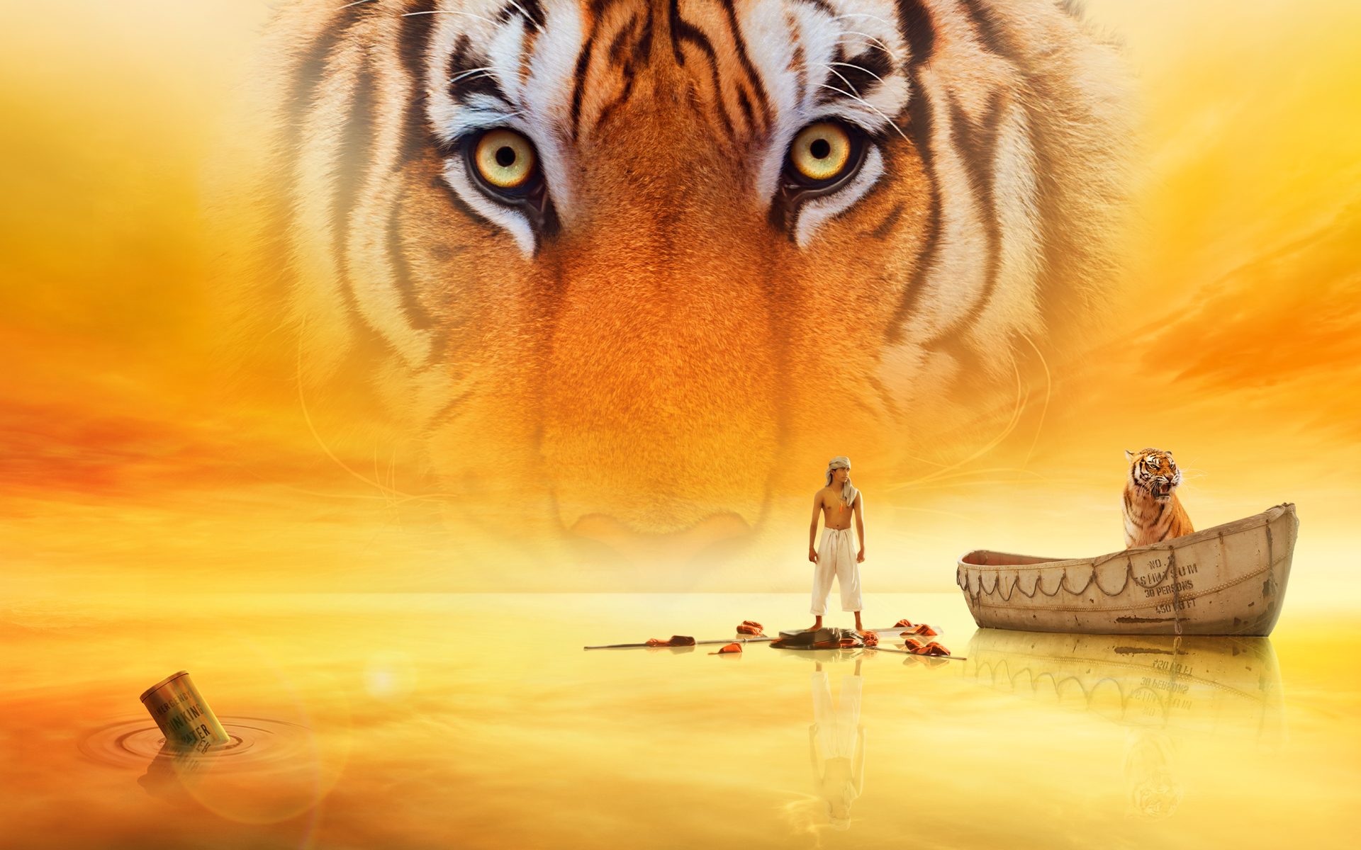 Wallpaper Life Of Pi