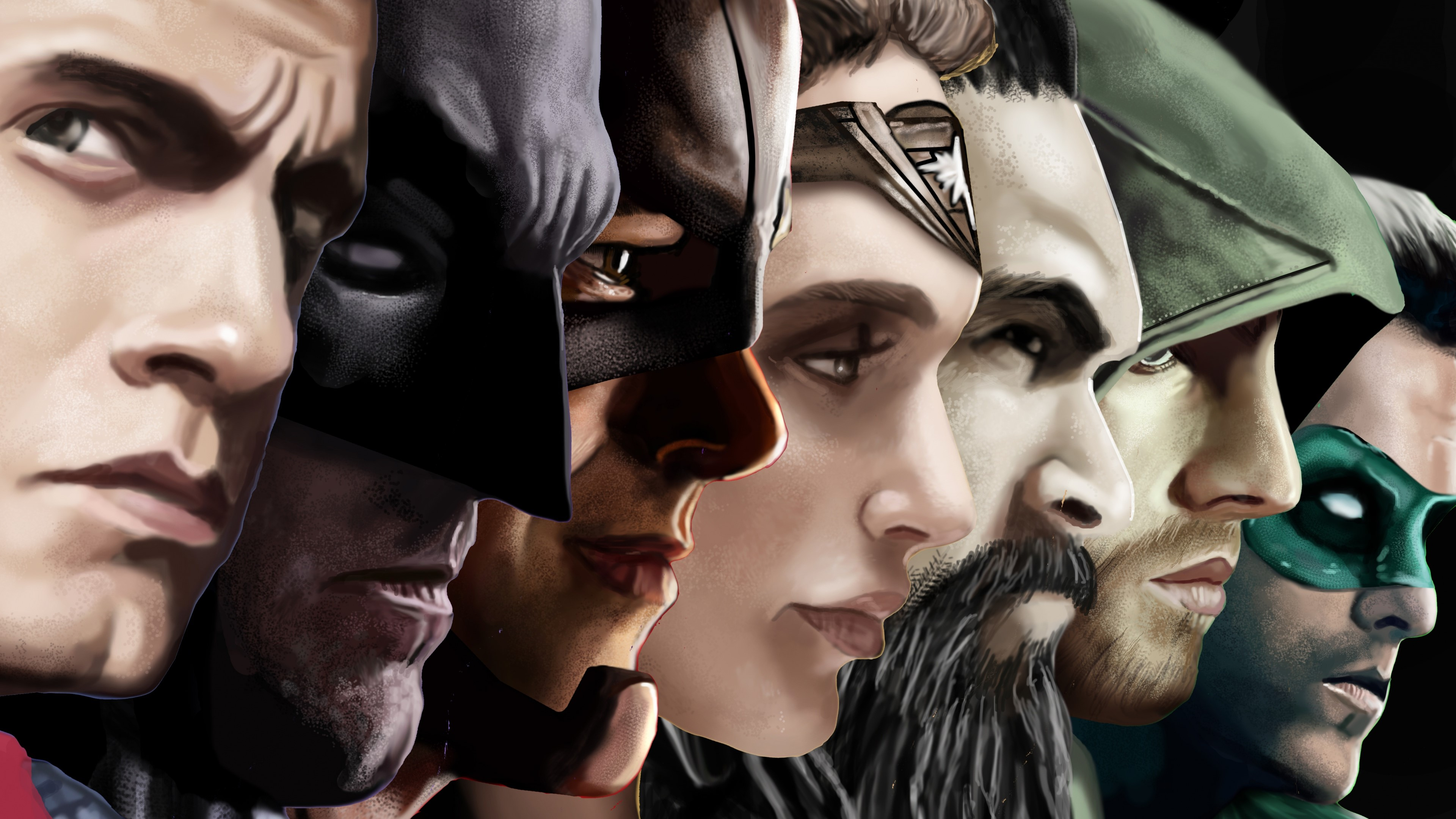 Wallpaper League of Justice