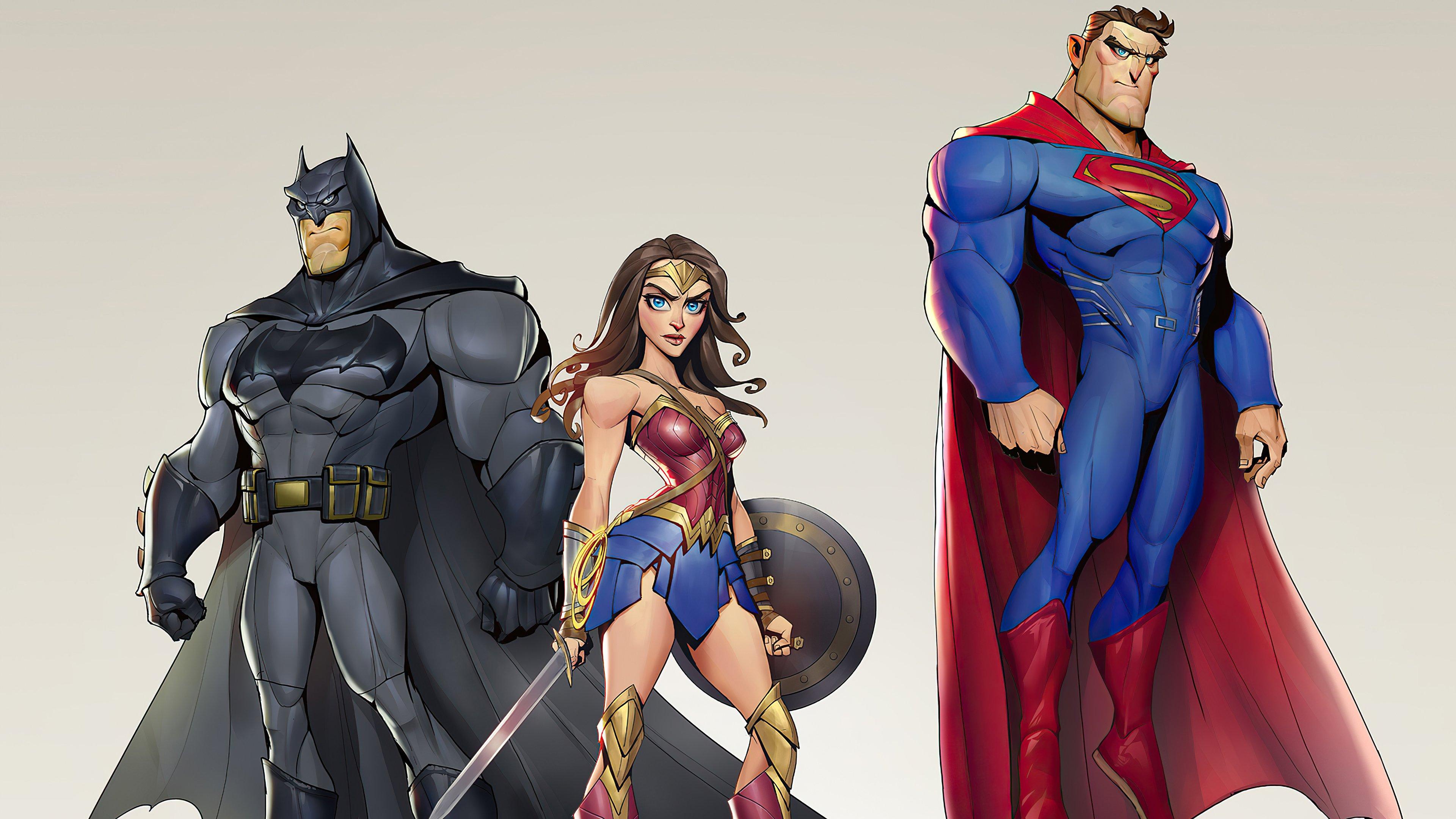 Fondos de pantalla Liga de la Justicia Caricatura