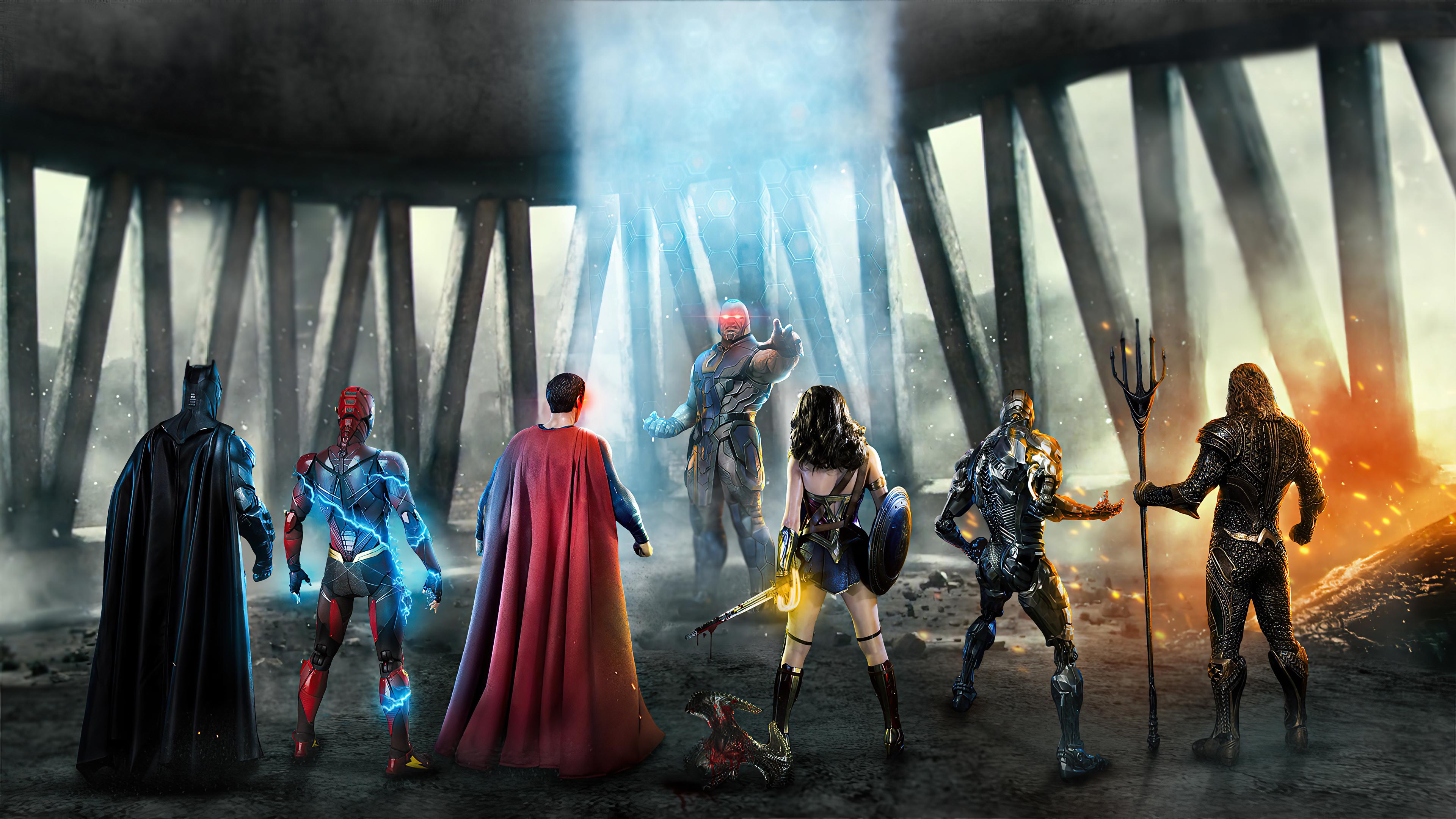 Fondos de pantalla Liga de la Justicia contra Darkseid