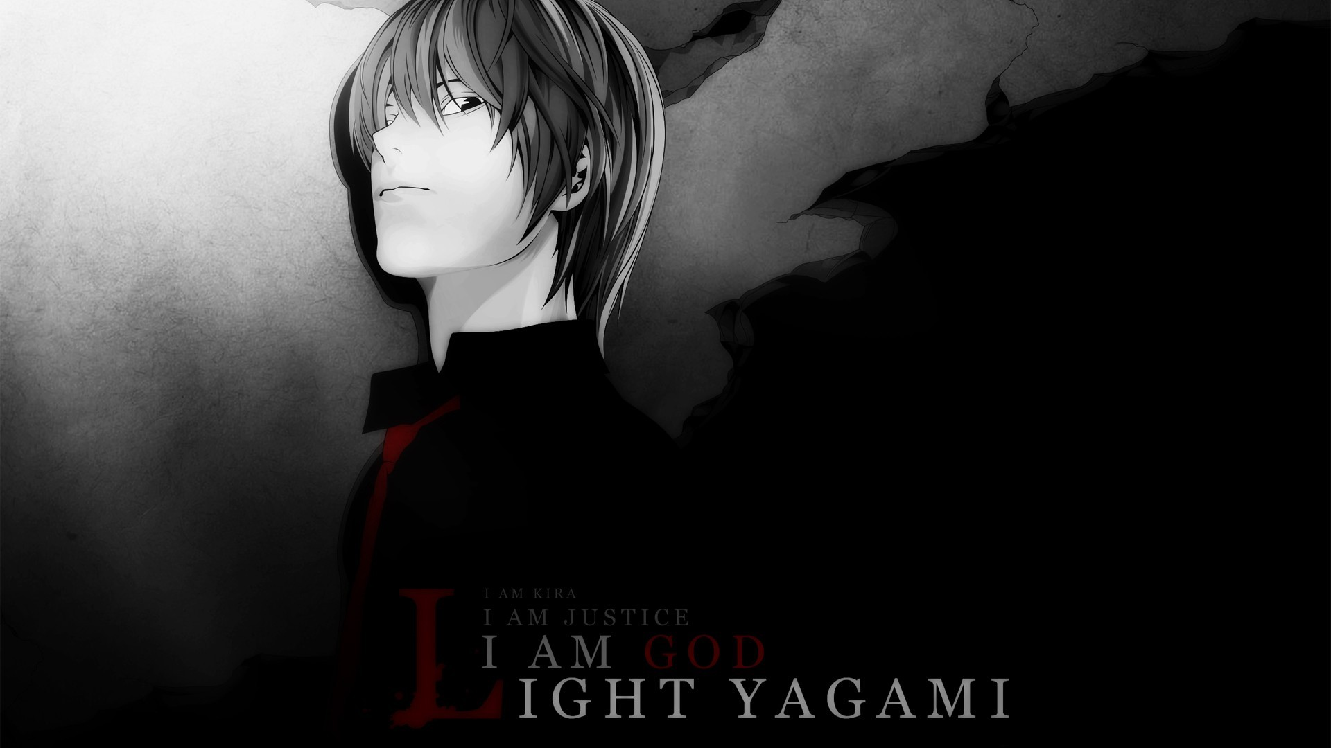 Anime Wallpaper Light Yagami from Death Note