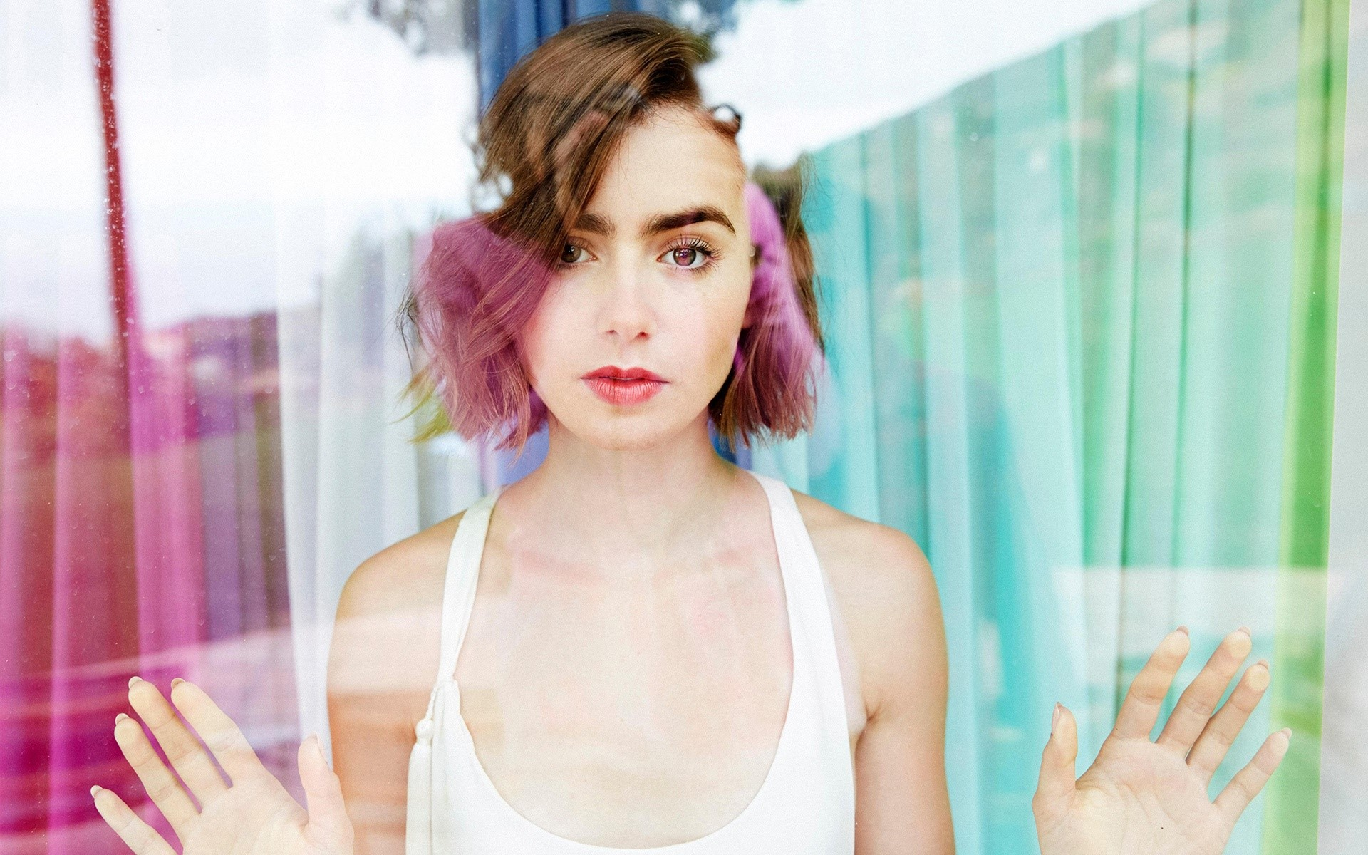 Wallpaper Lily Collins