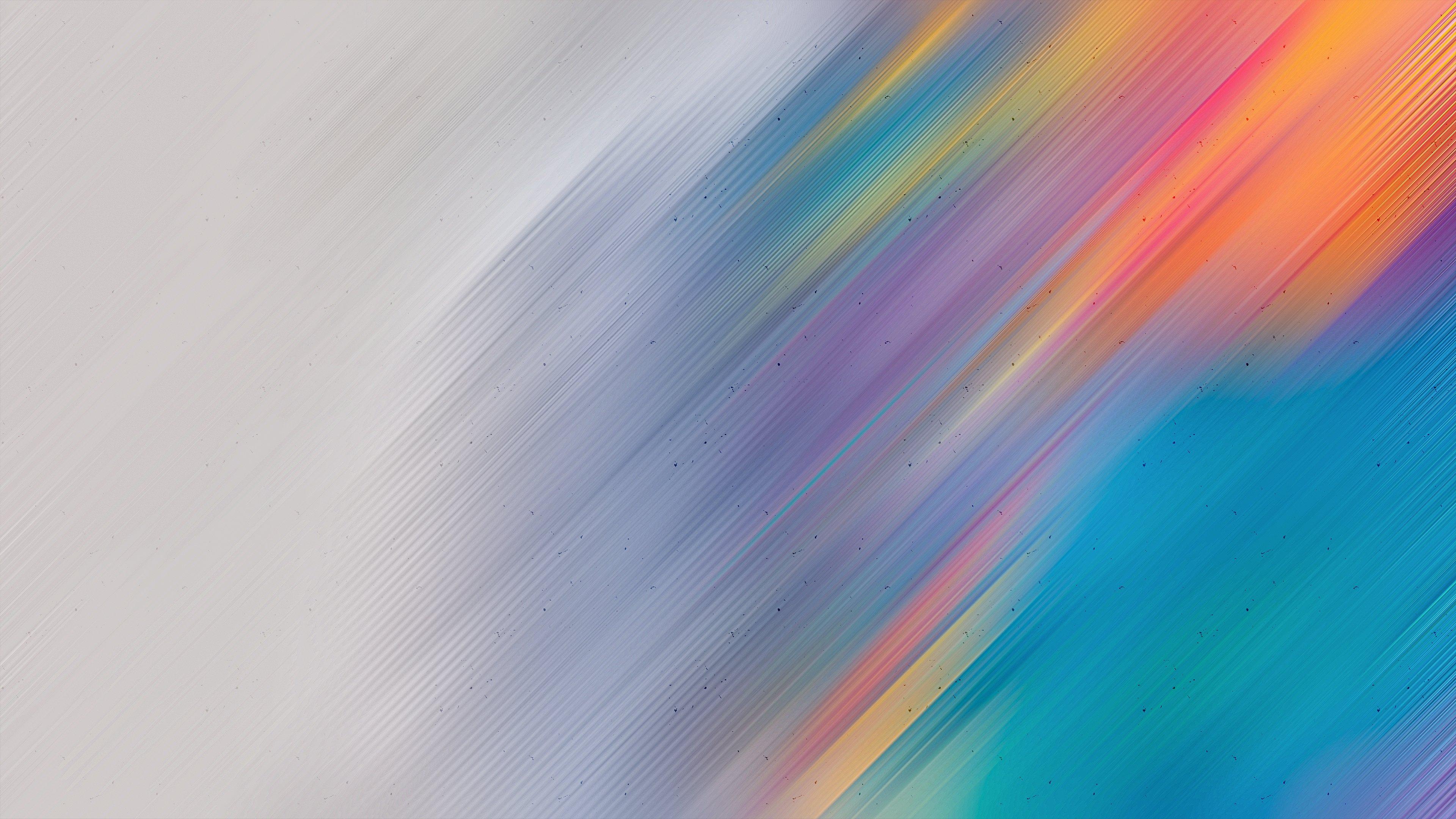 Fondos de pantalla Lineas borrosas coloridas