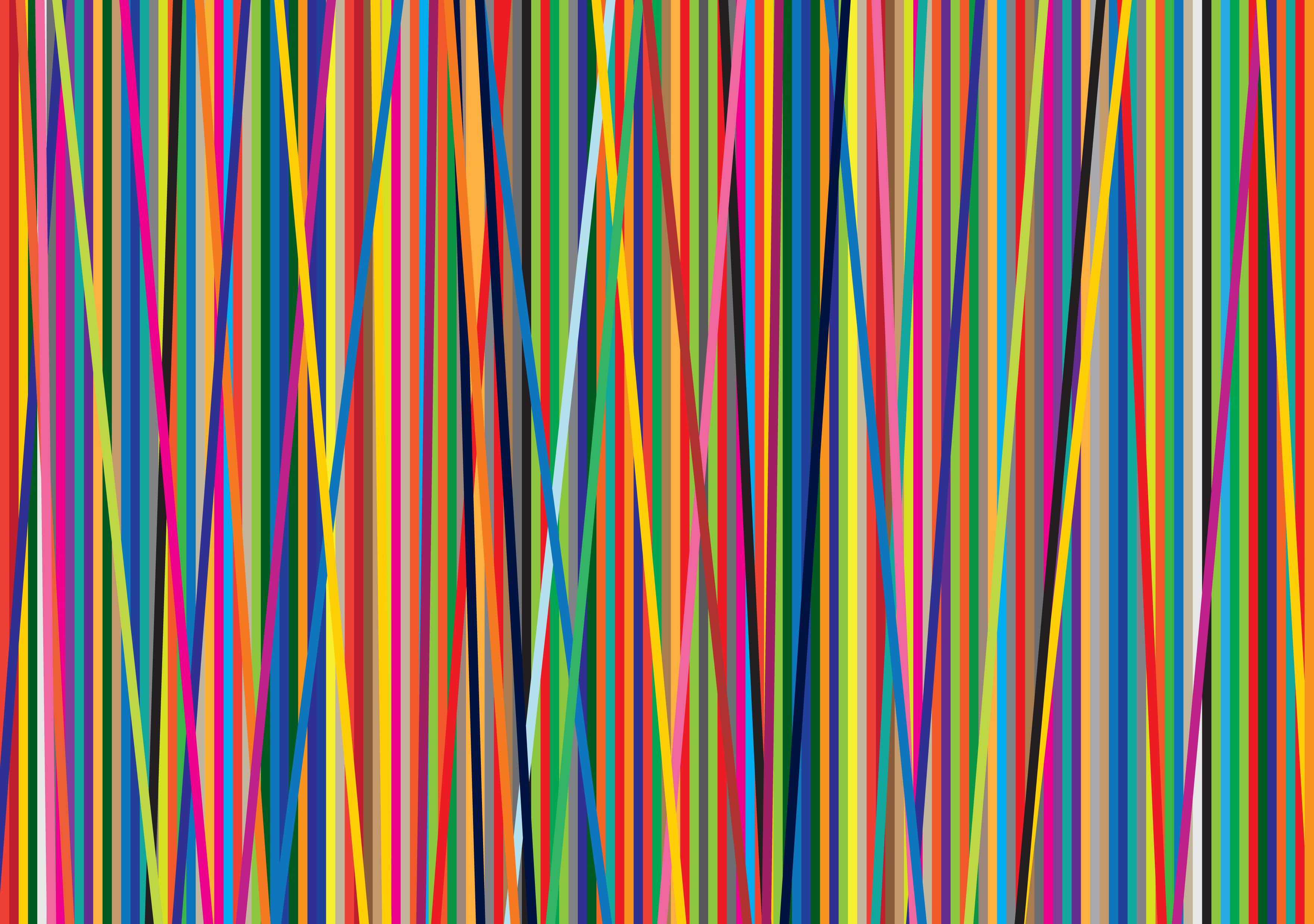 Wallpaper Colored lines