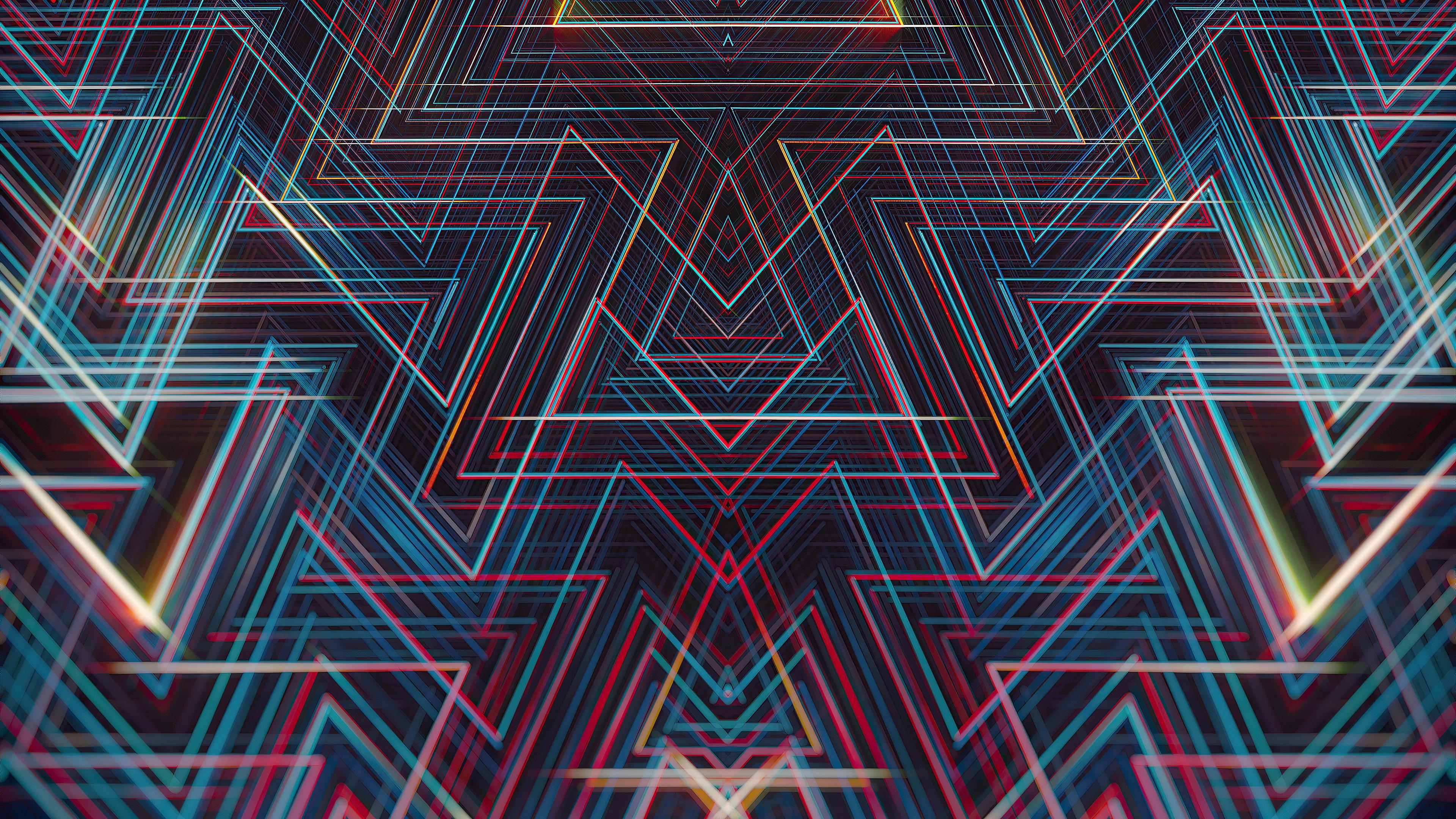 Wallpaper Lines Symmetry