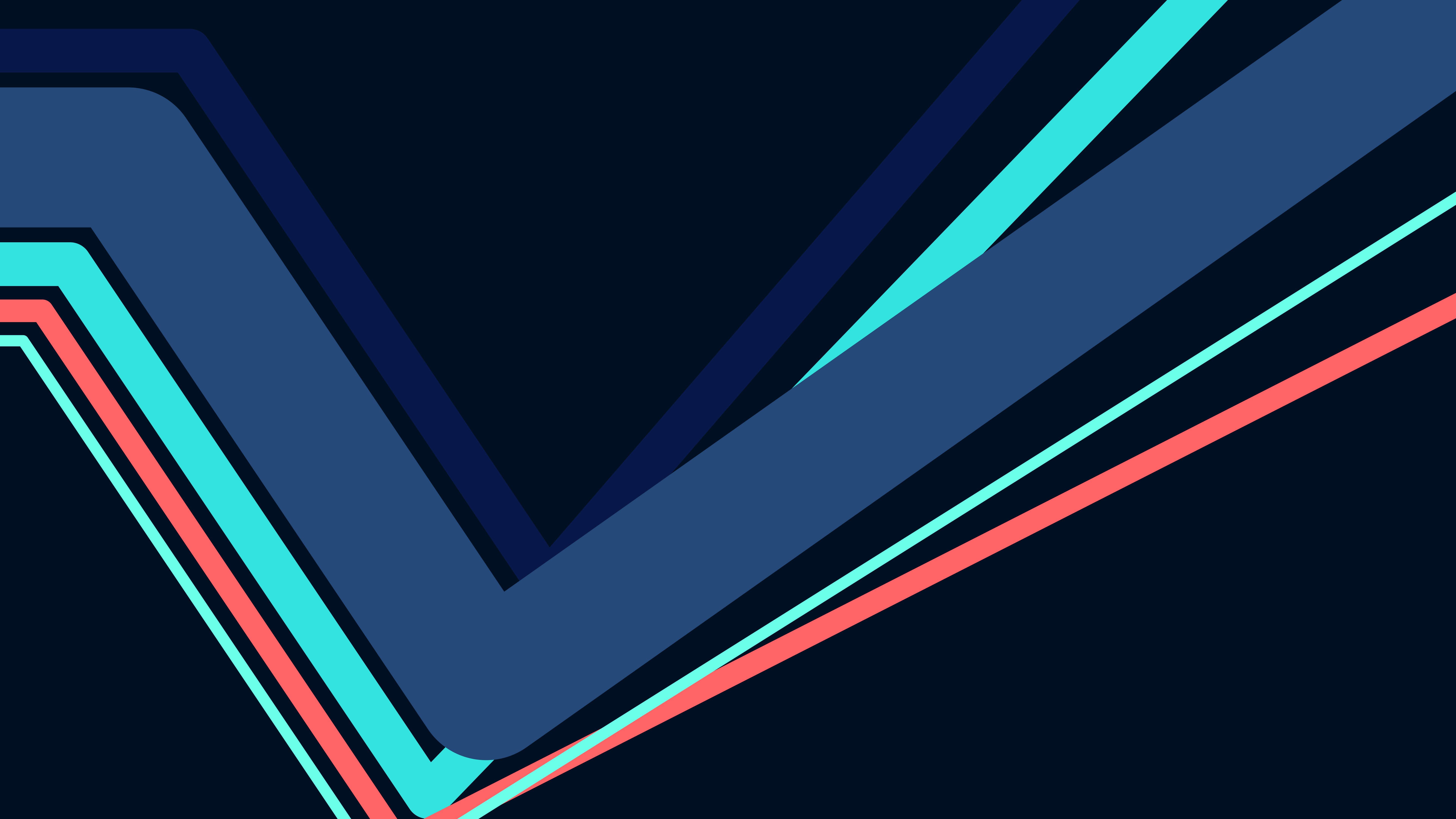 Fondos de pantalla Líneas estilo Dark Mode Minimalista