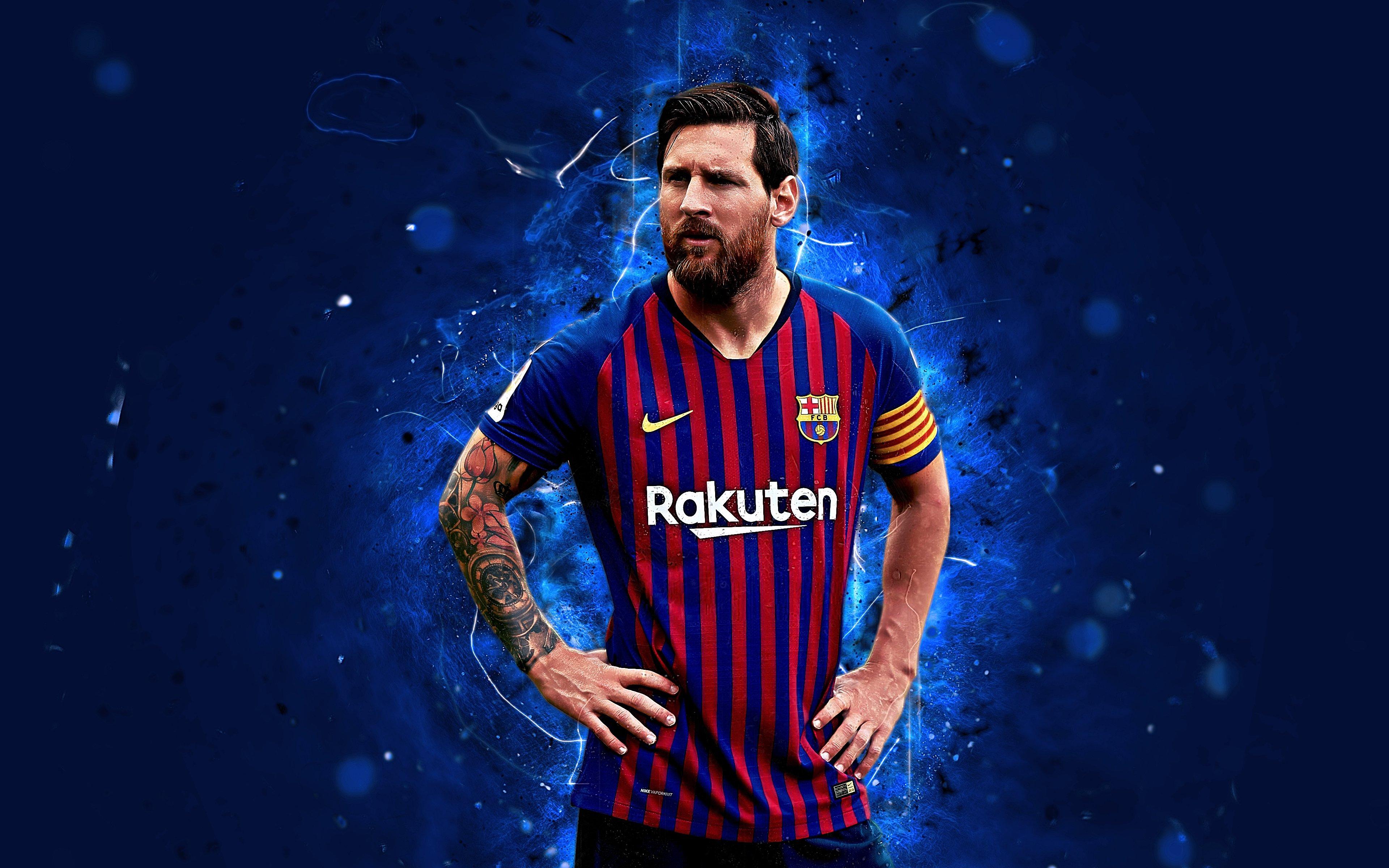 Fondos de pantalla Lionel Messi Barcelona