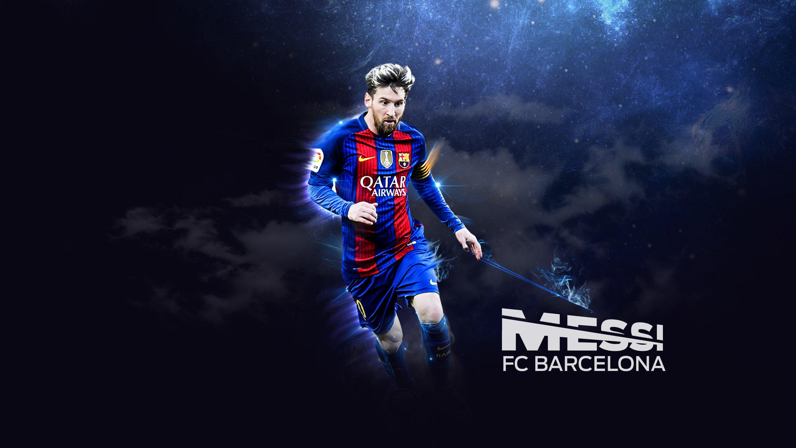 Wallpaper Lionel Messi Barcelona