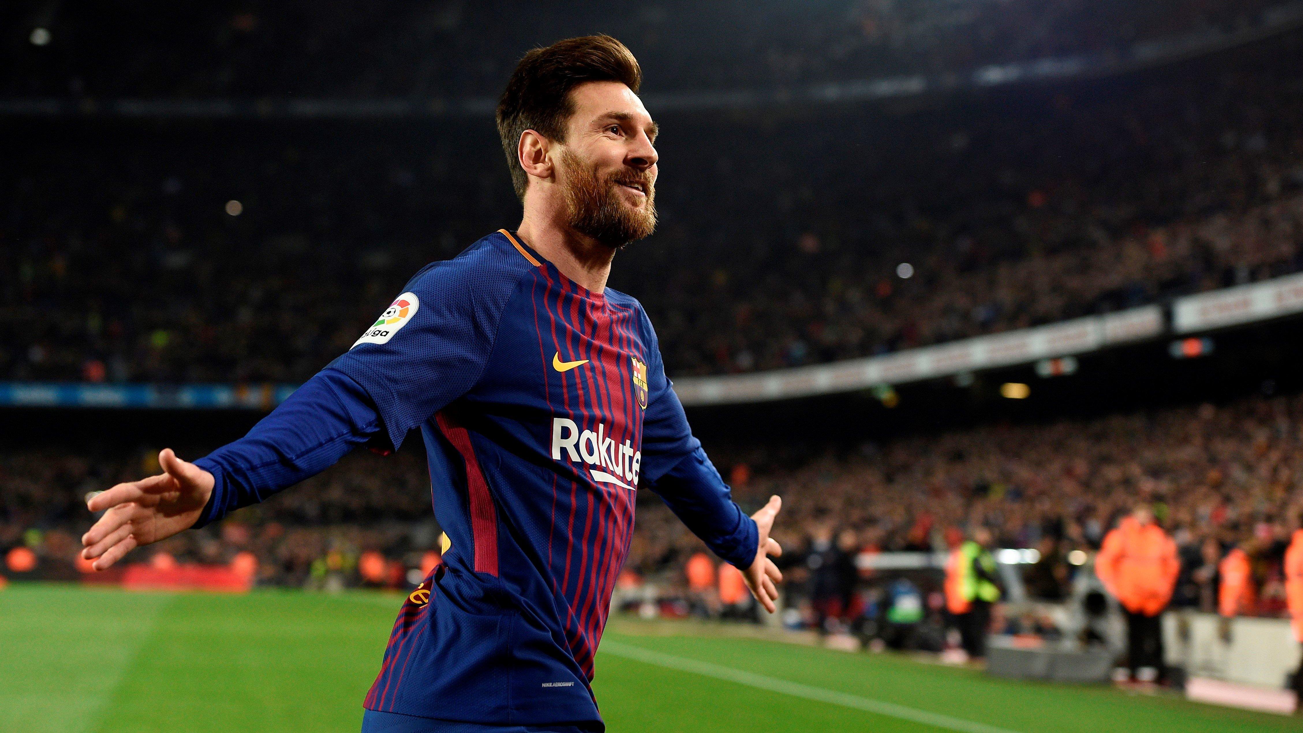 Fondos de pantalla Lionel Messi con el Barcelona