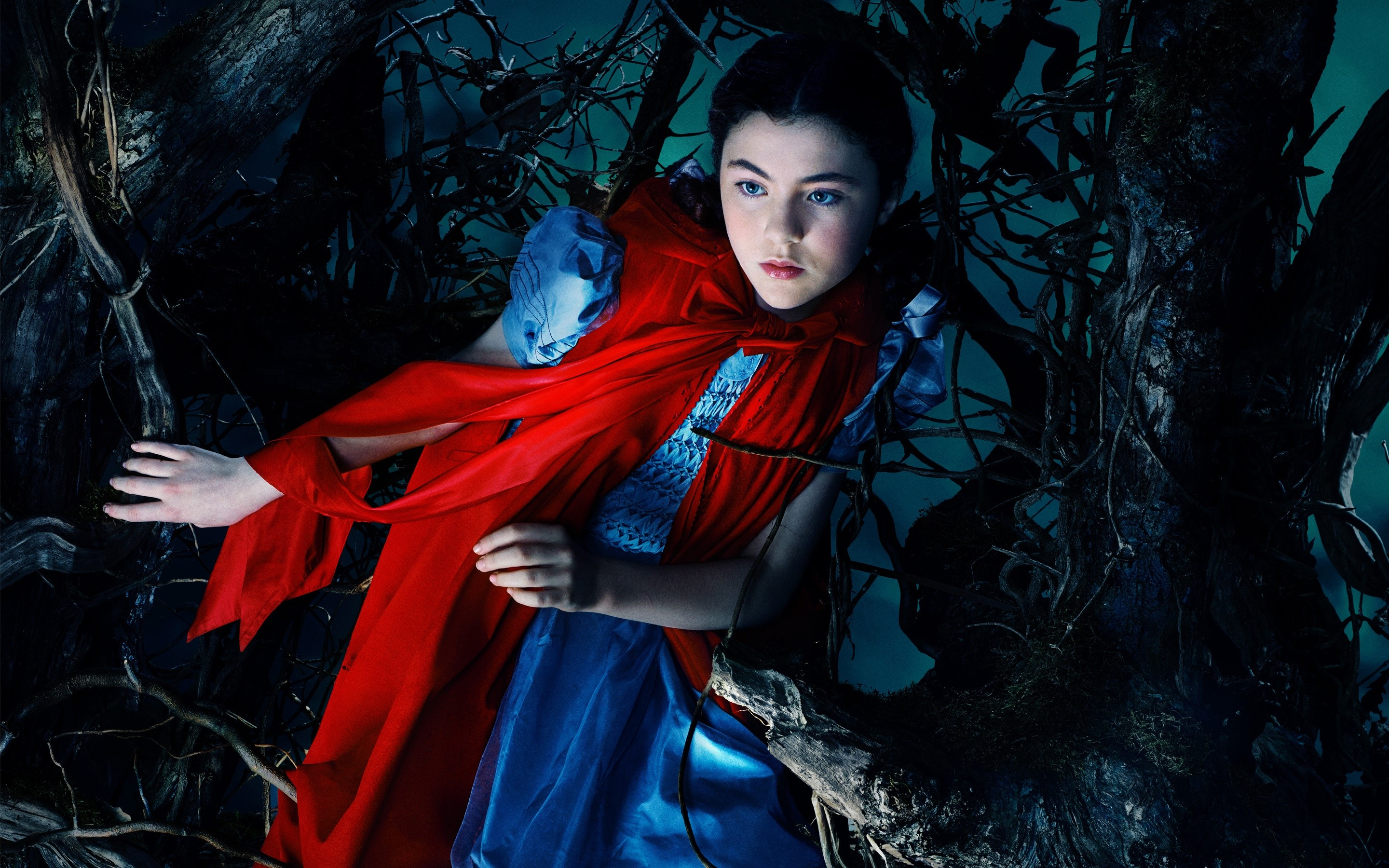 Wallpaper Little red riding hood in Into the woods