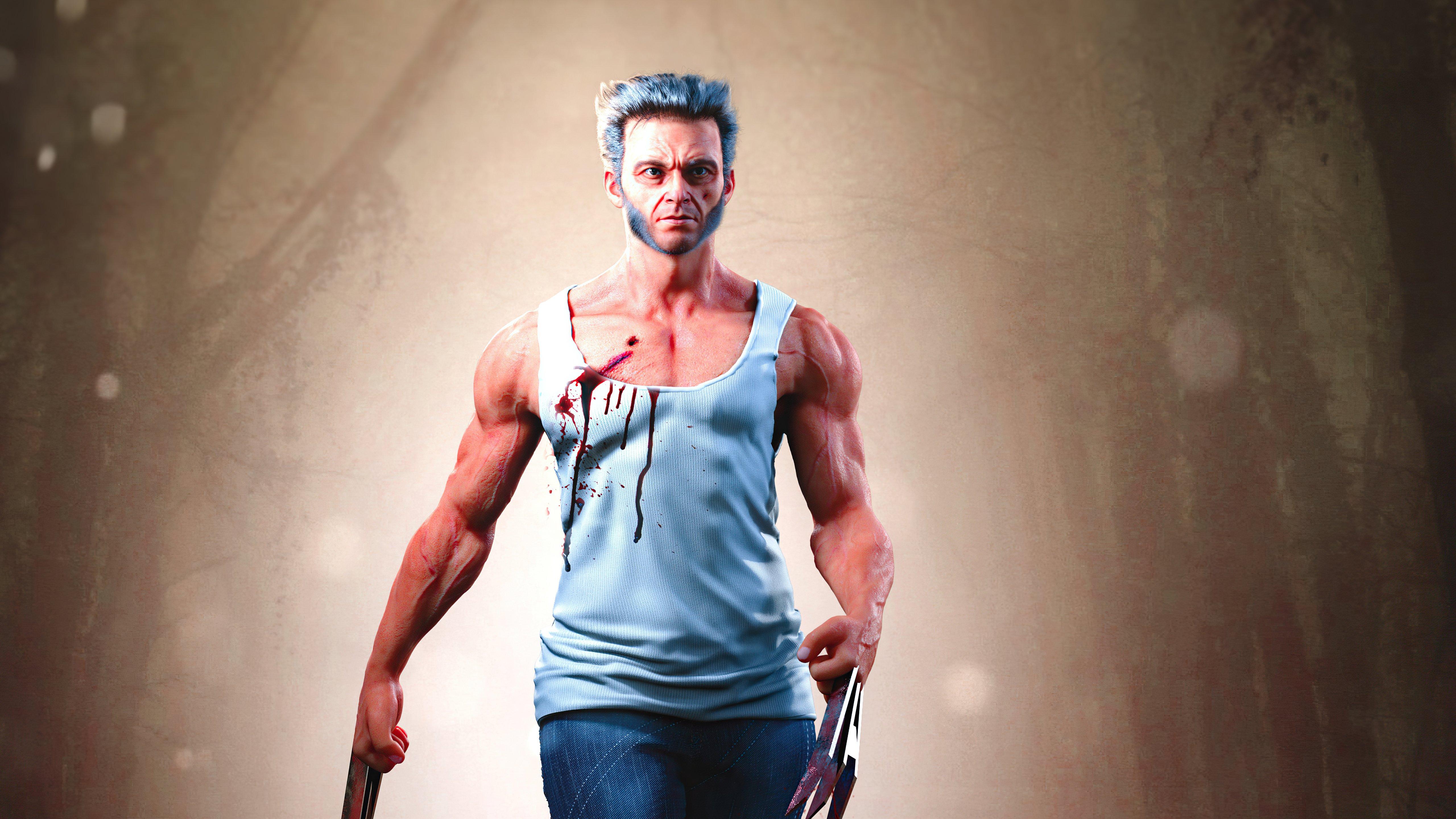 Fondos de pantalla Logan Wolverine