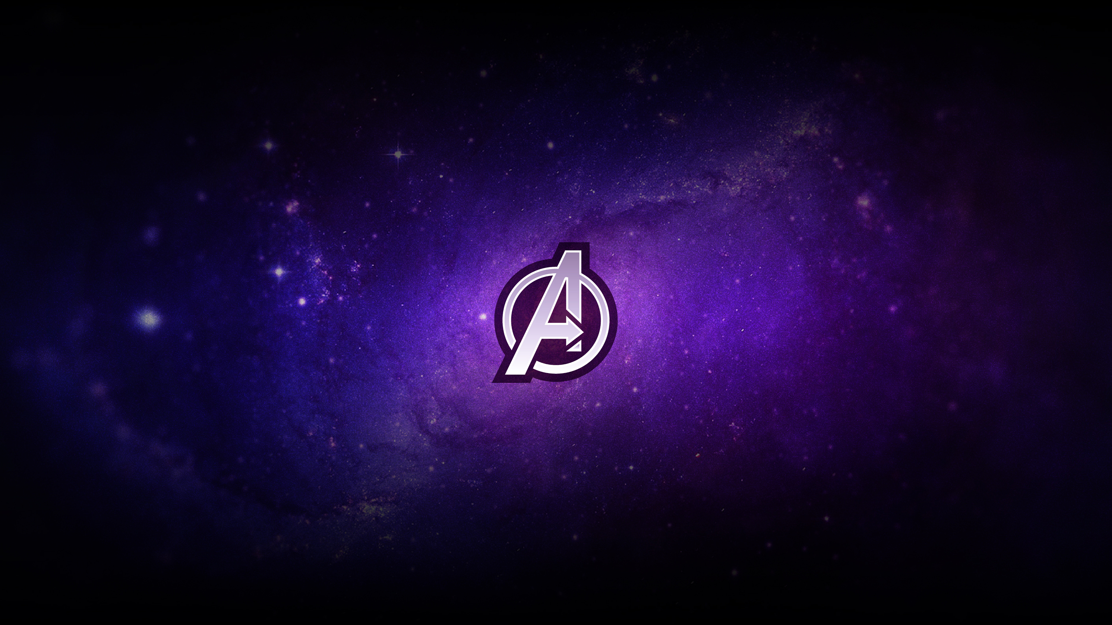 Wallpaper Logo Avengers Endgame