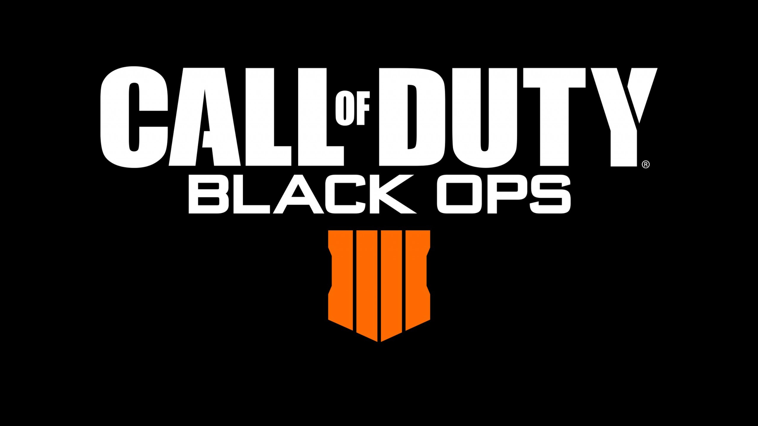 Fondos de pantalla Logo Call of Duty Black Ops 4