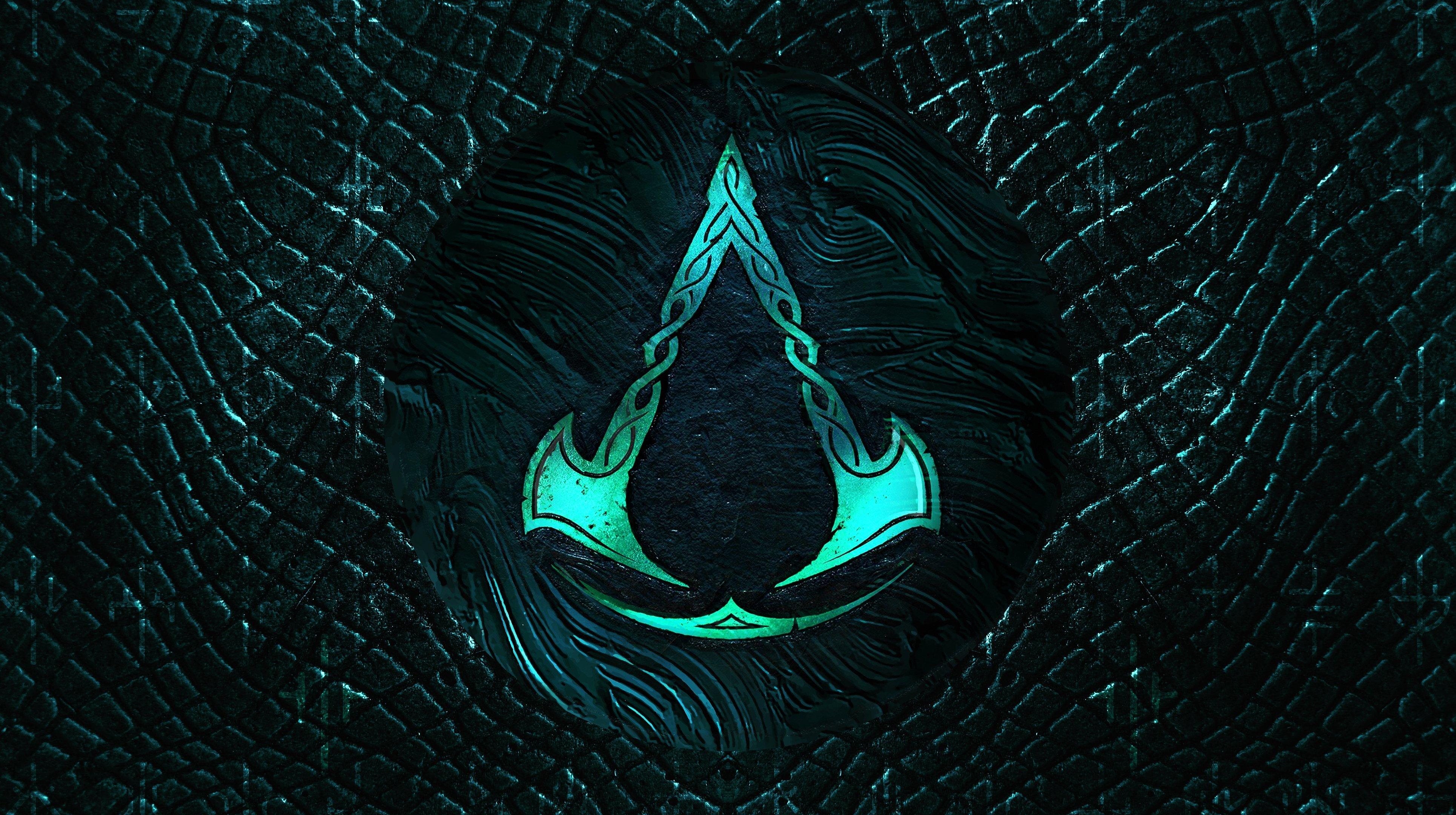 Fondos de pantalla Logo de Assassins creed Valhalla