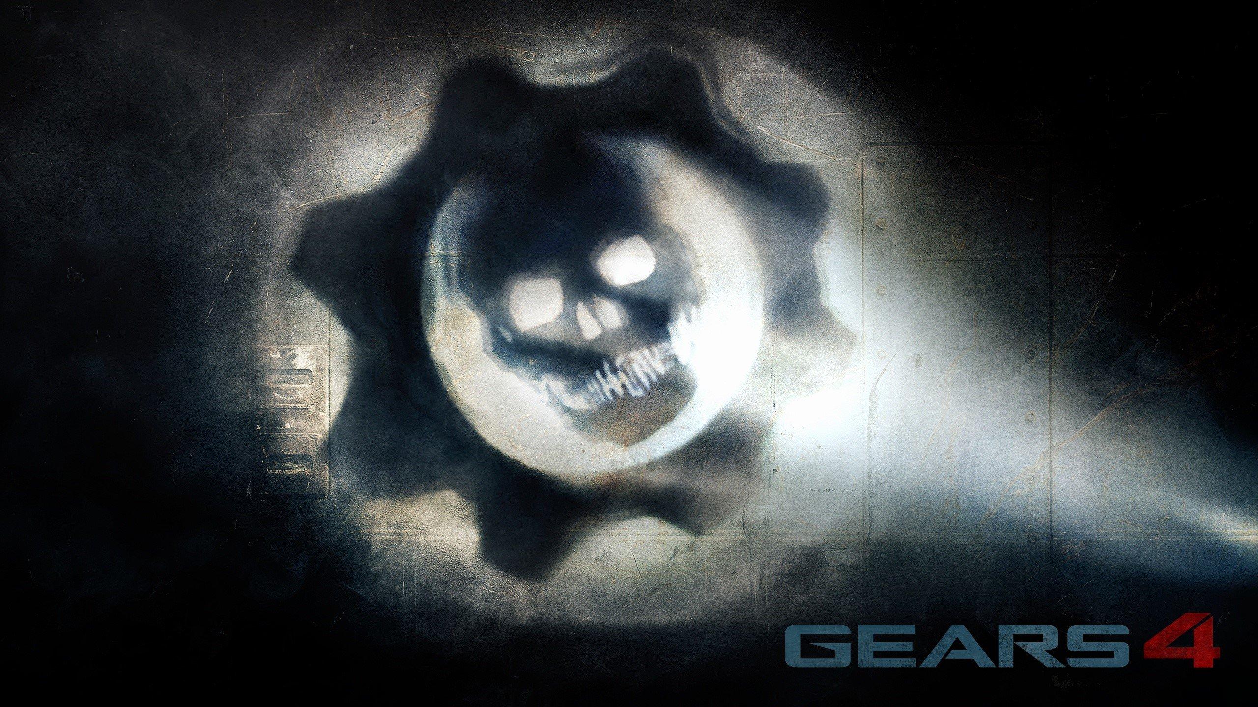 Wallpaper Gears of War 4 logo