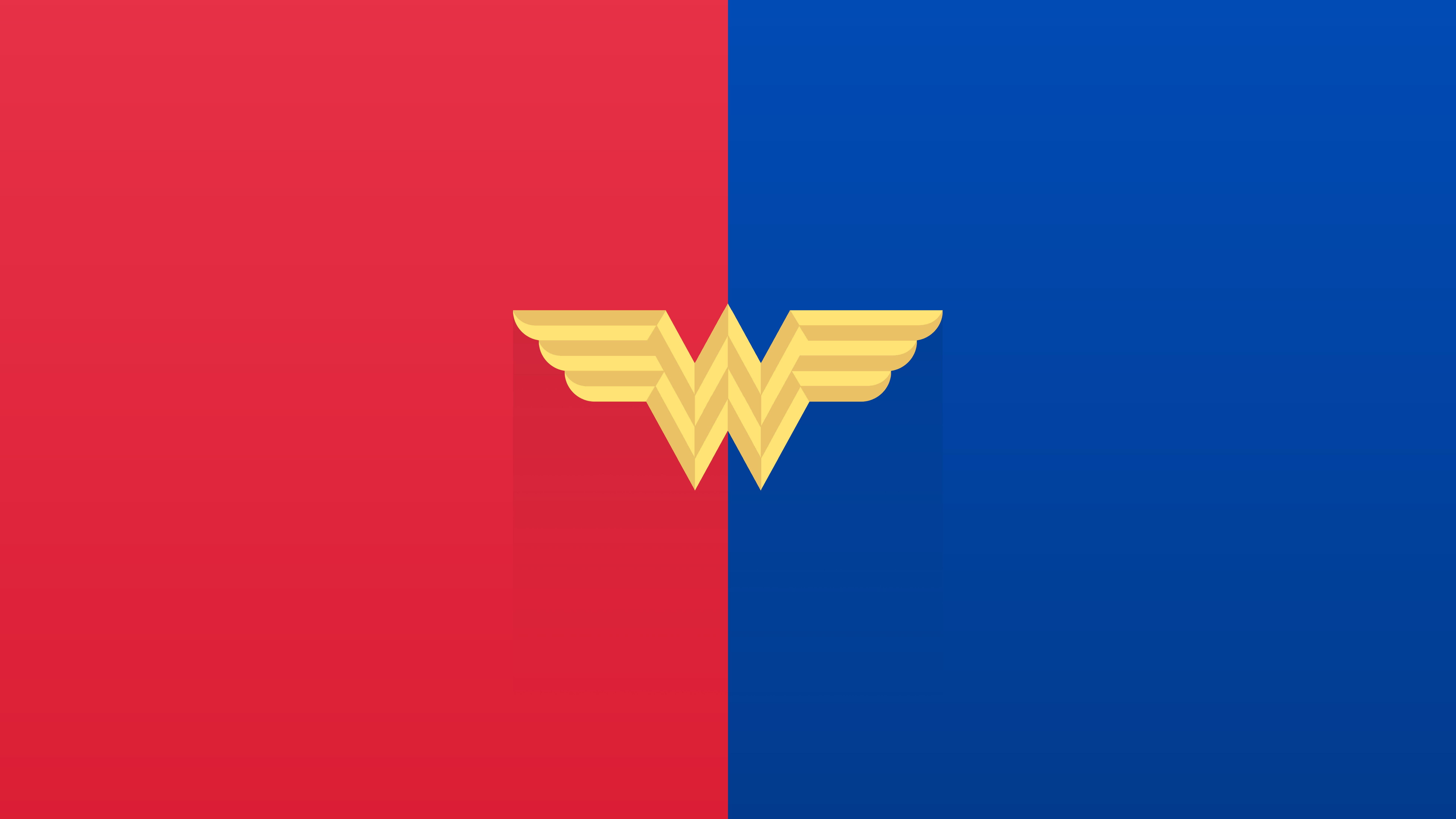 Wallpaper Wonder Woman Logo Minimalist