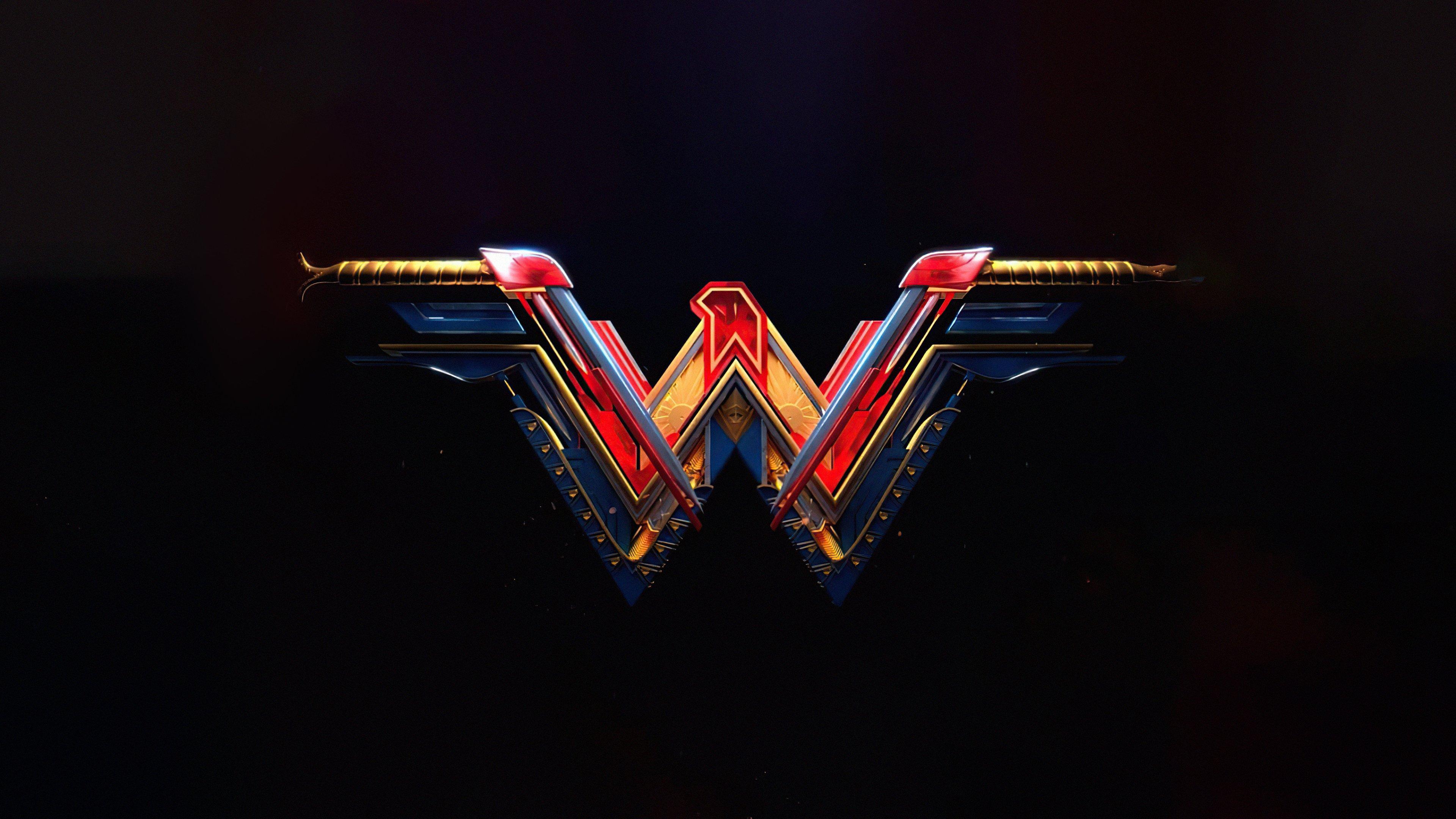 Wallpaper Wonder Woman Logo