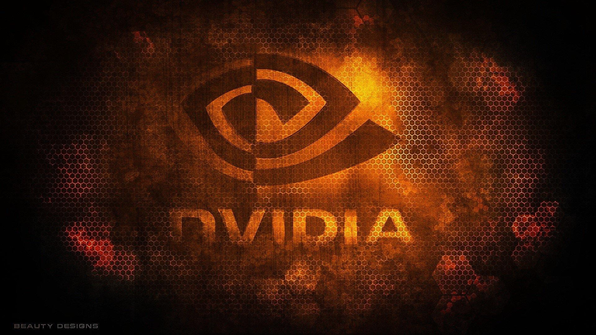 Fondo de pantalla de Logo de Nvidia Imágenes