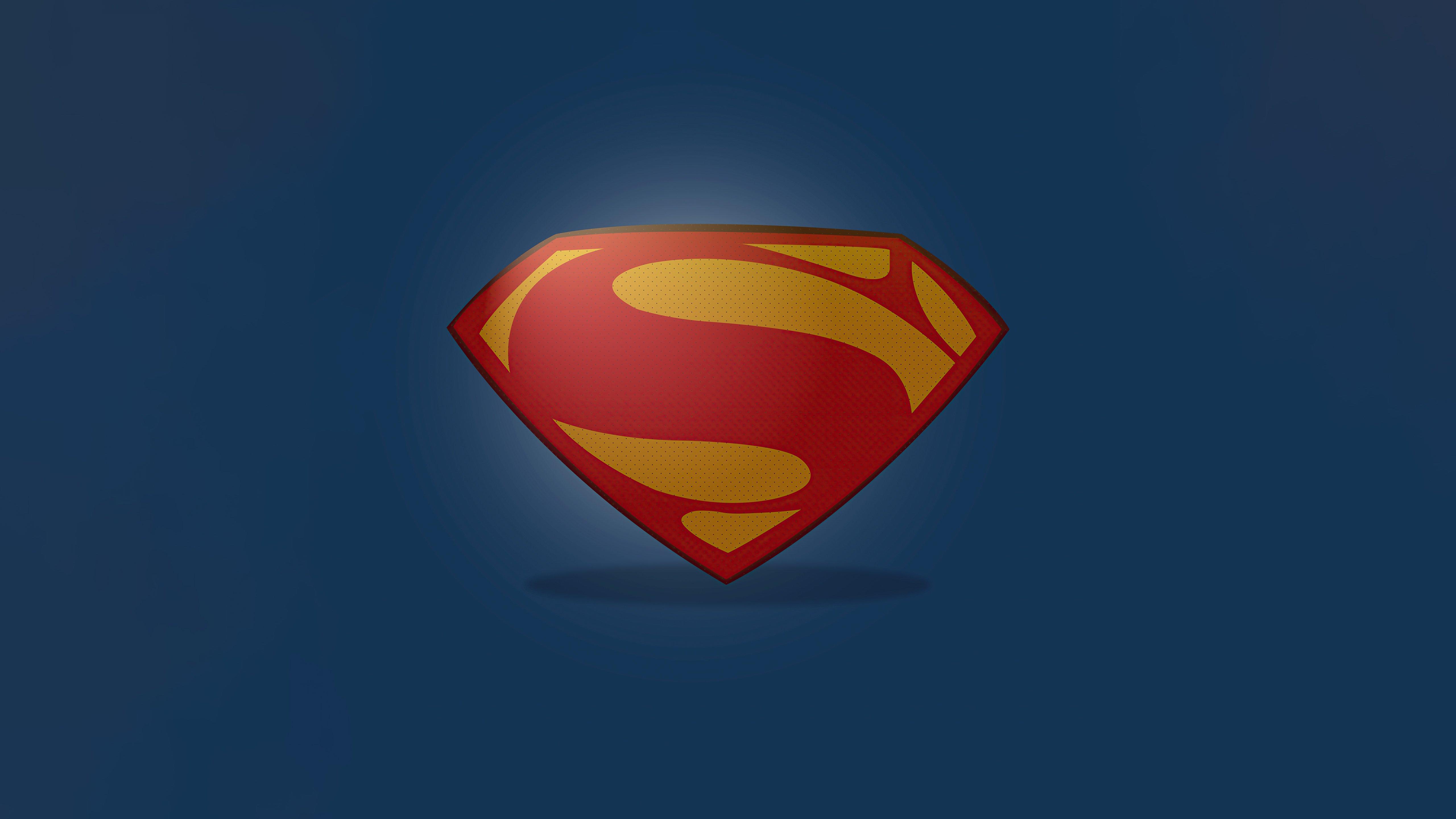 Fondos de pantalla Logo de Superman Minimalista