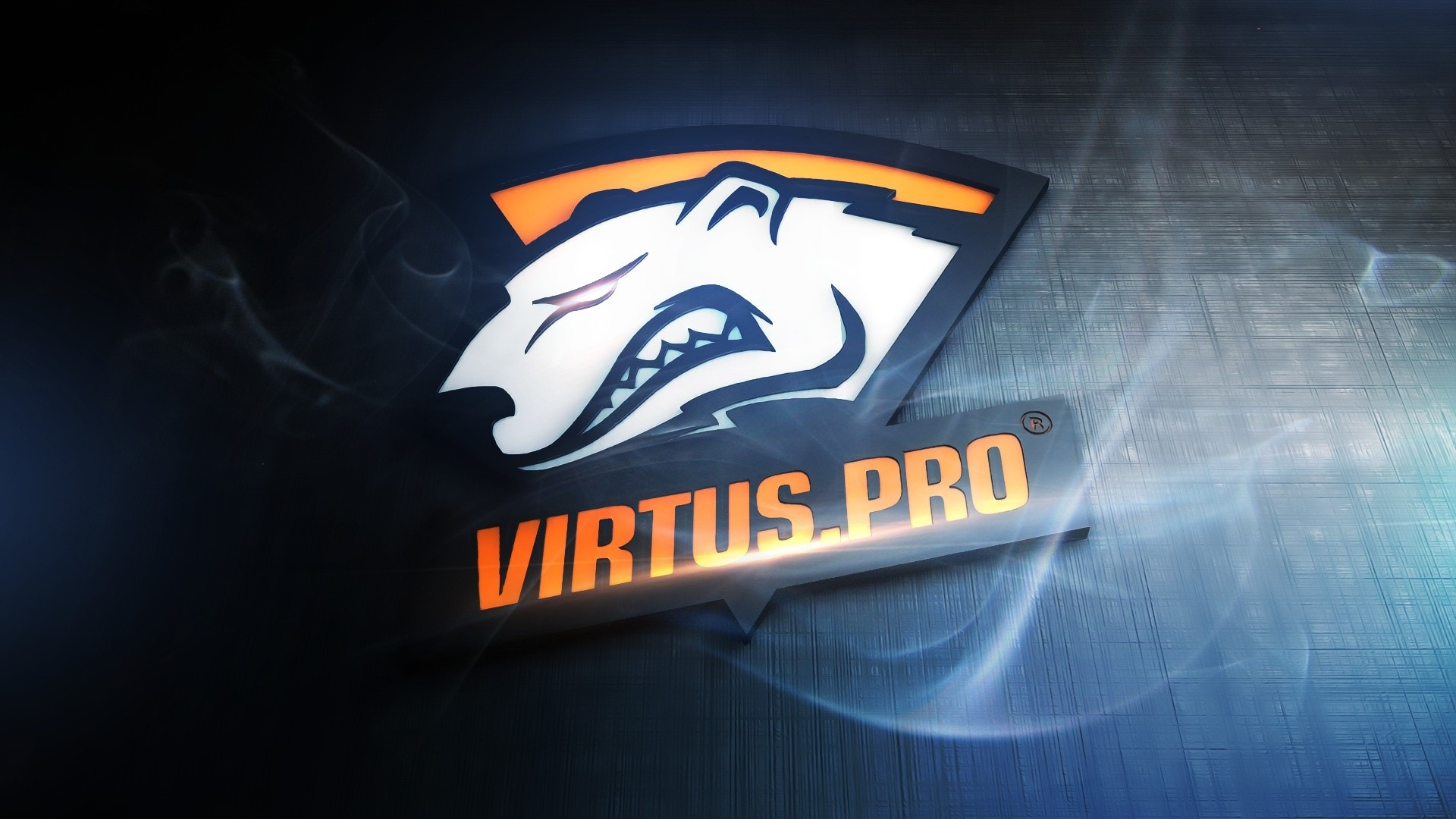 Wallpaper Virtus pro logo