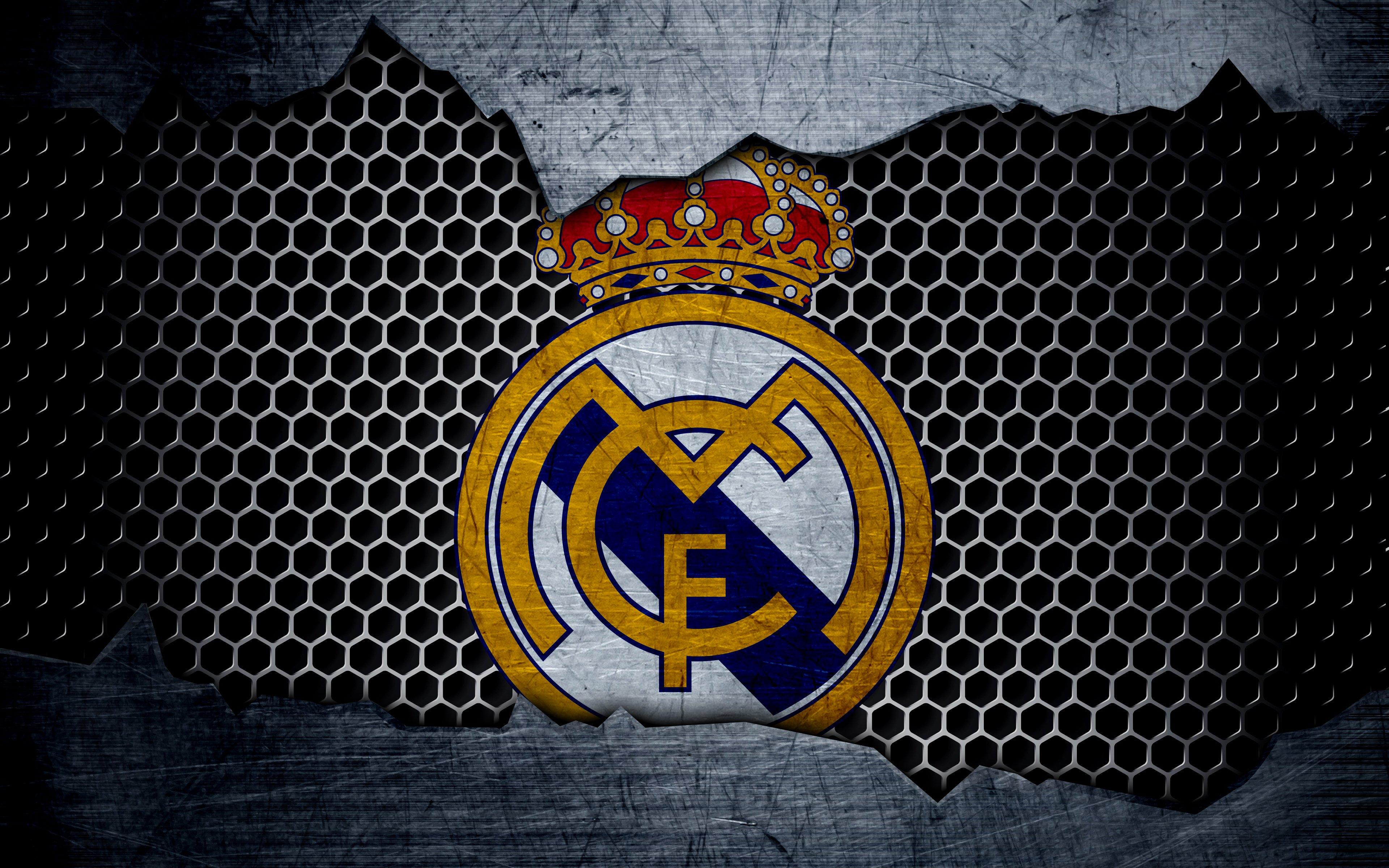 Wallpaper Real Madrid Logo
