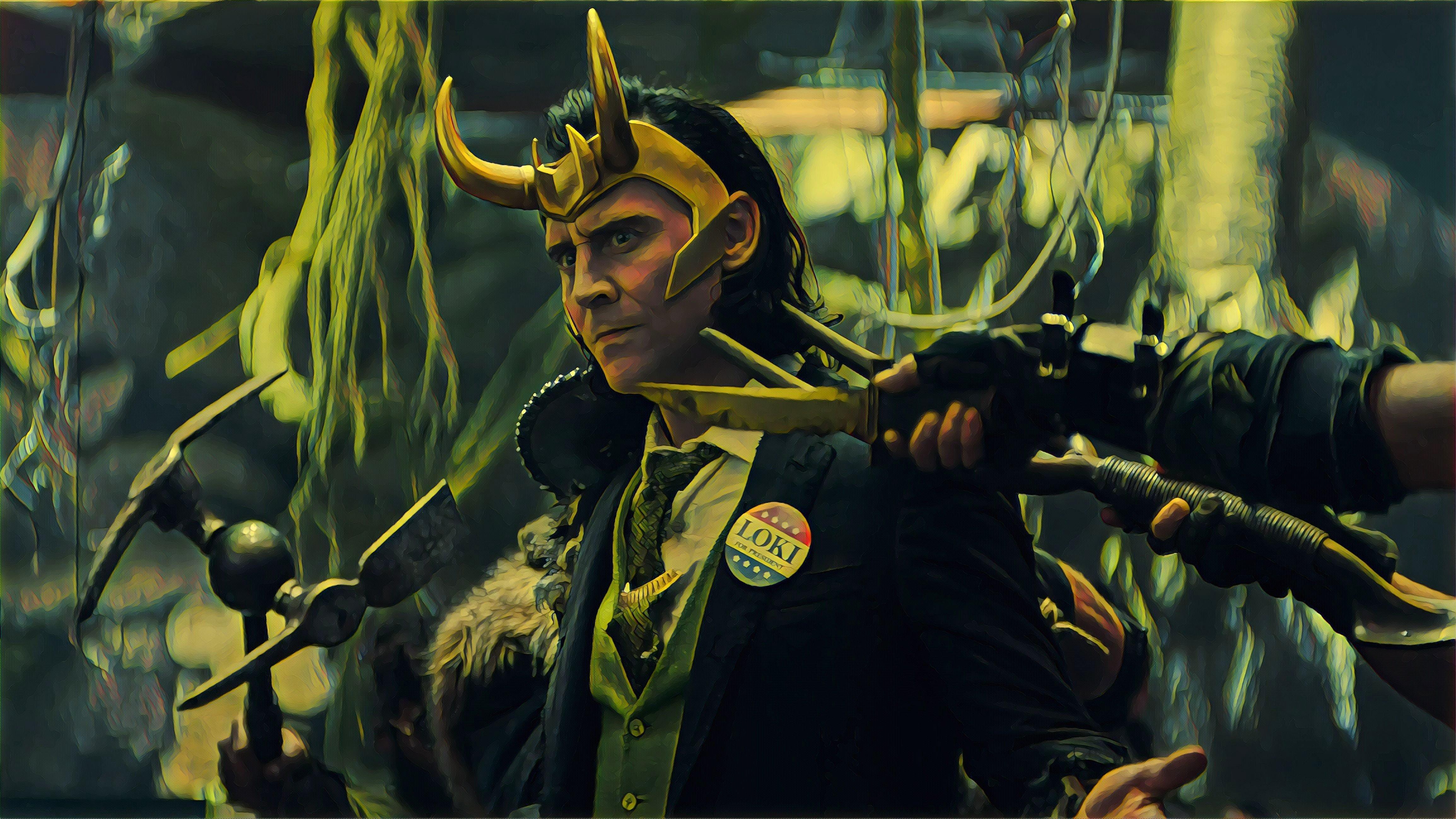 Wallpaper Loki 2021
