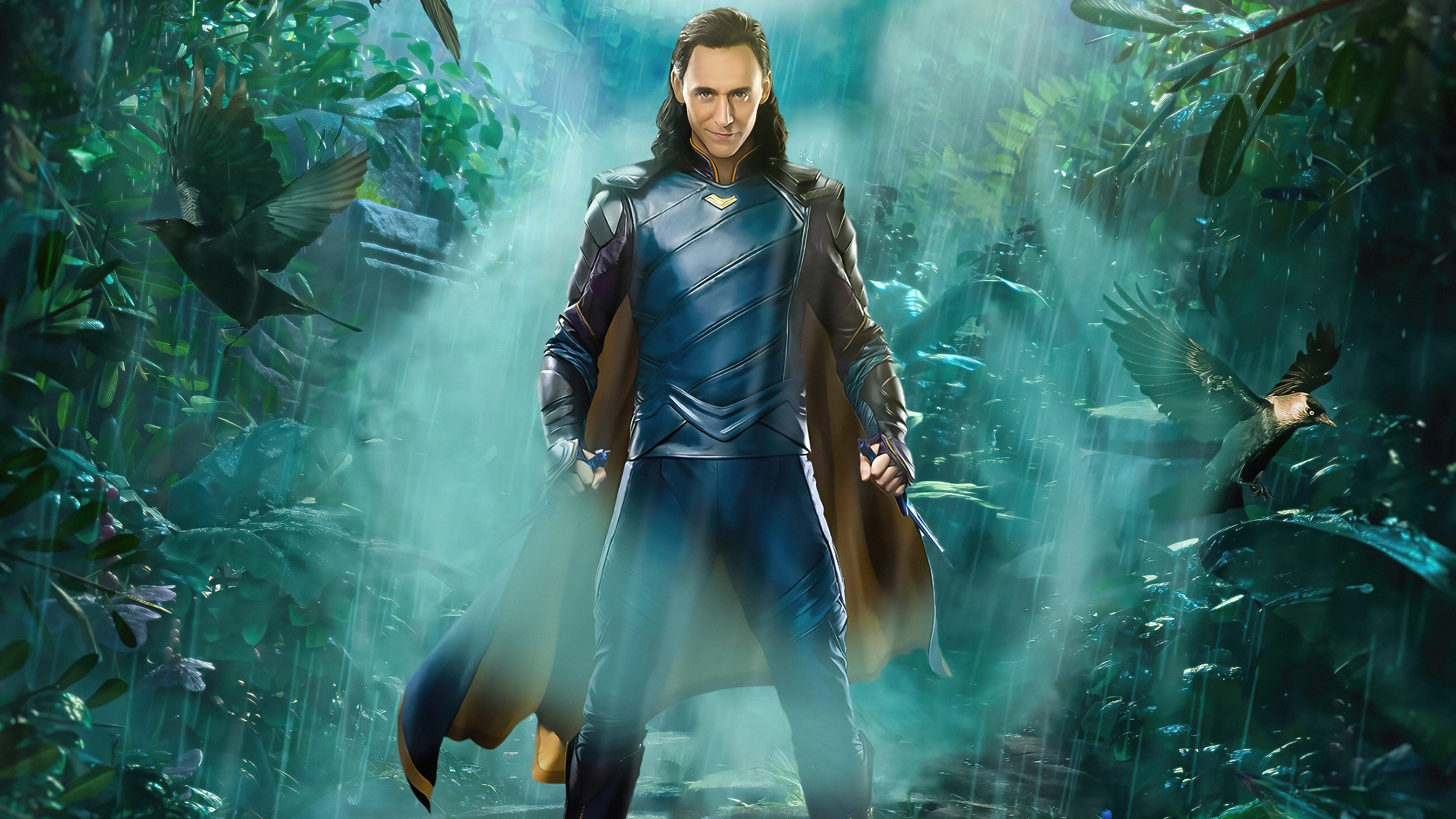 Wallpaper Loki Where mischief lies