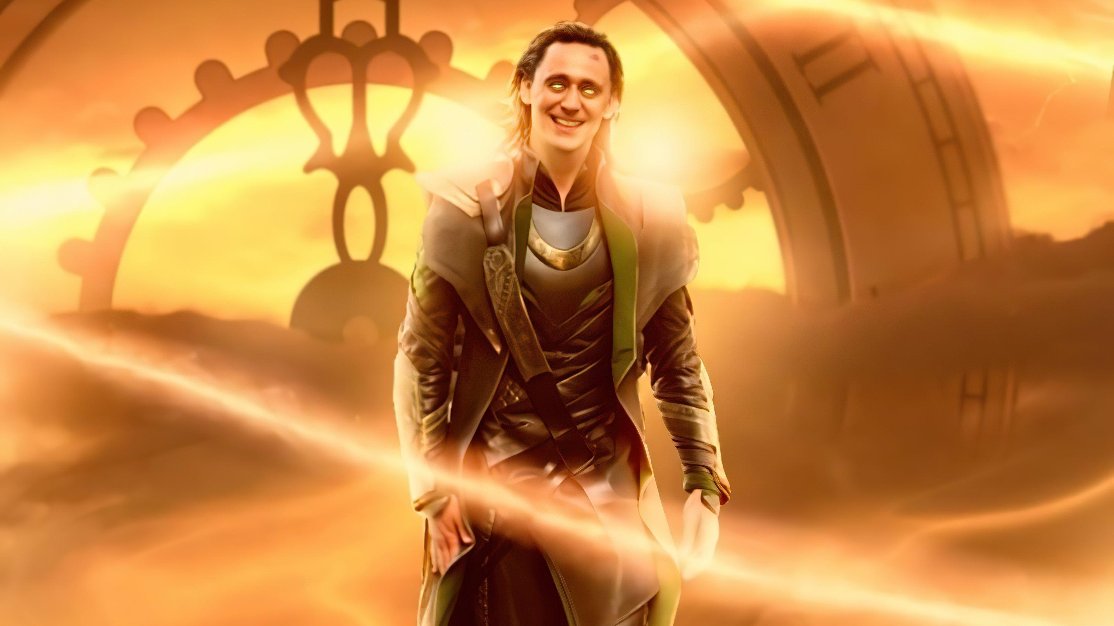Wallpaper Loki The God of mischief Poster