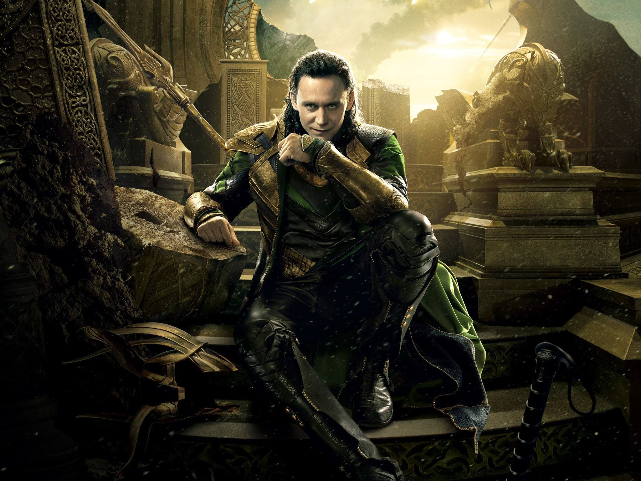 Wallpaper Loki in Thor 2