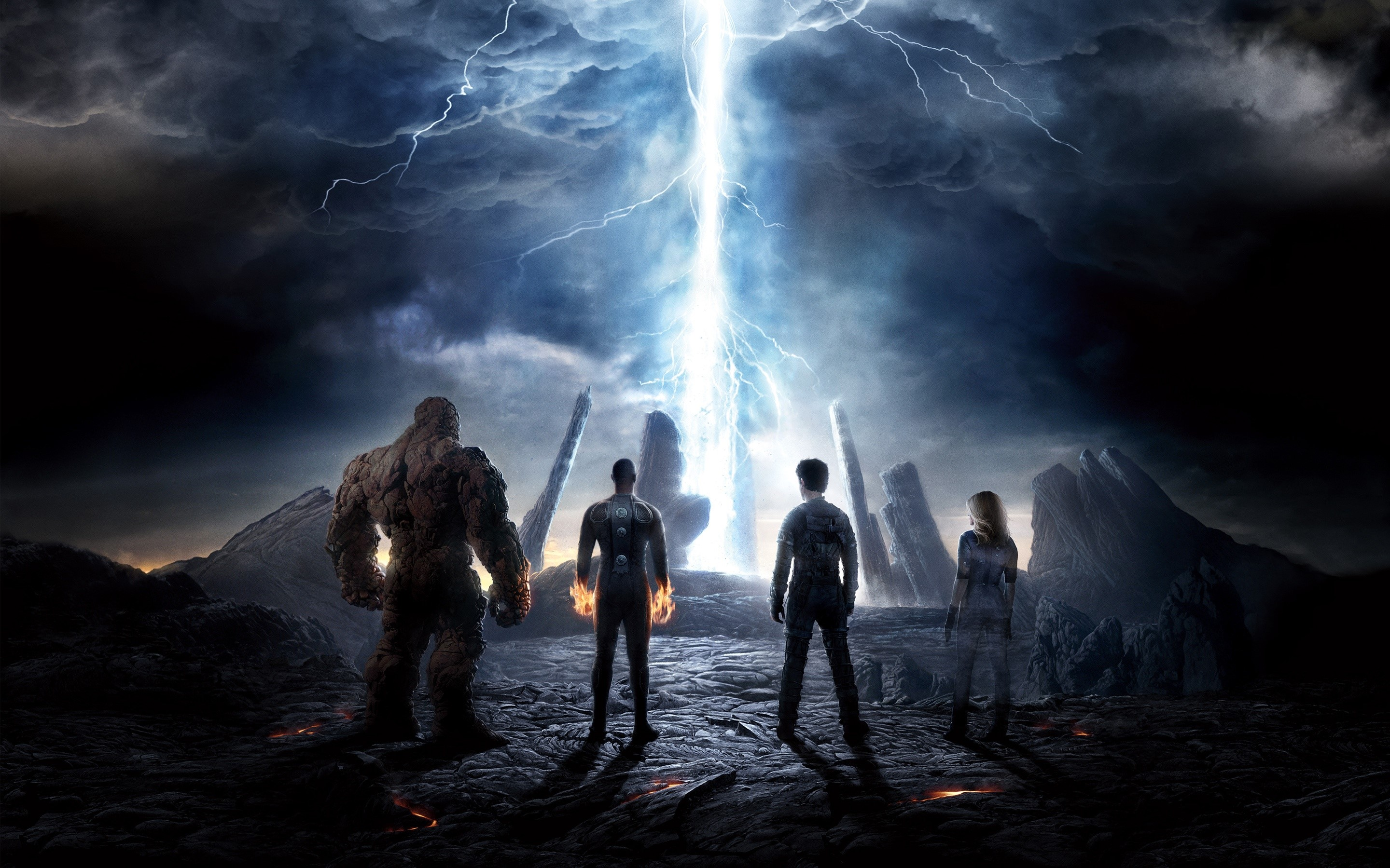 Wallpaper The fantastic 4