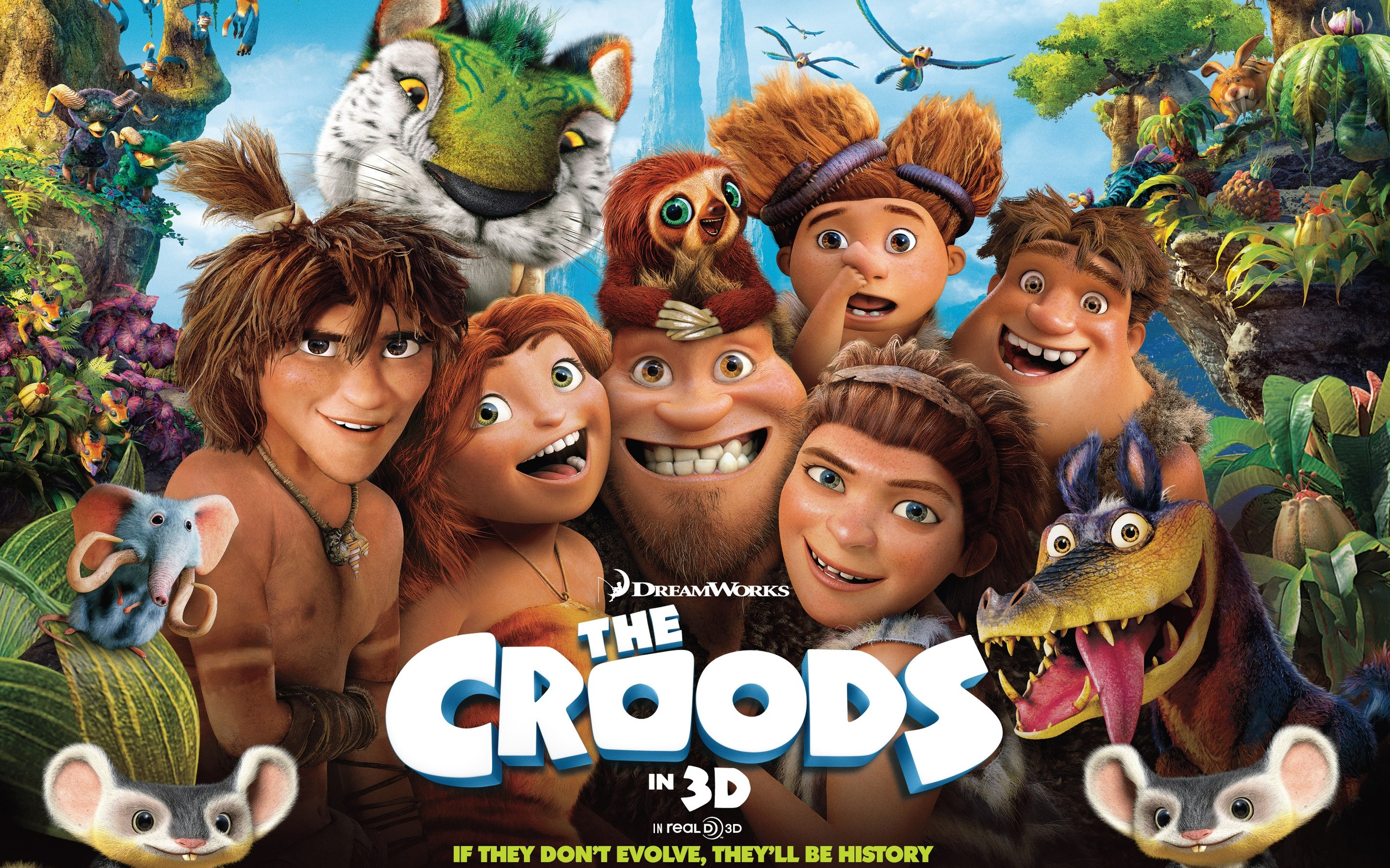 Wallpaper The Croods