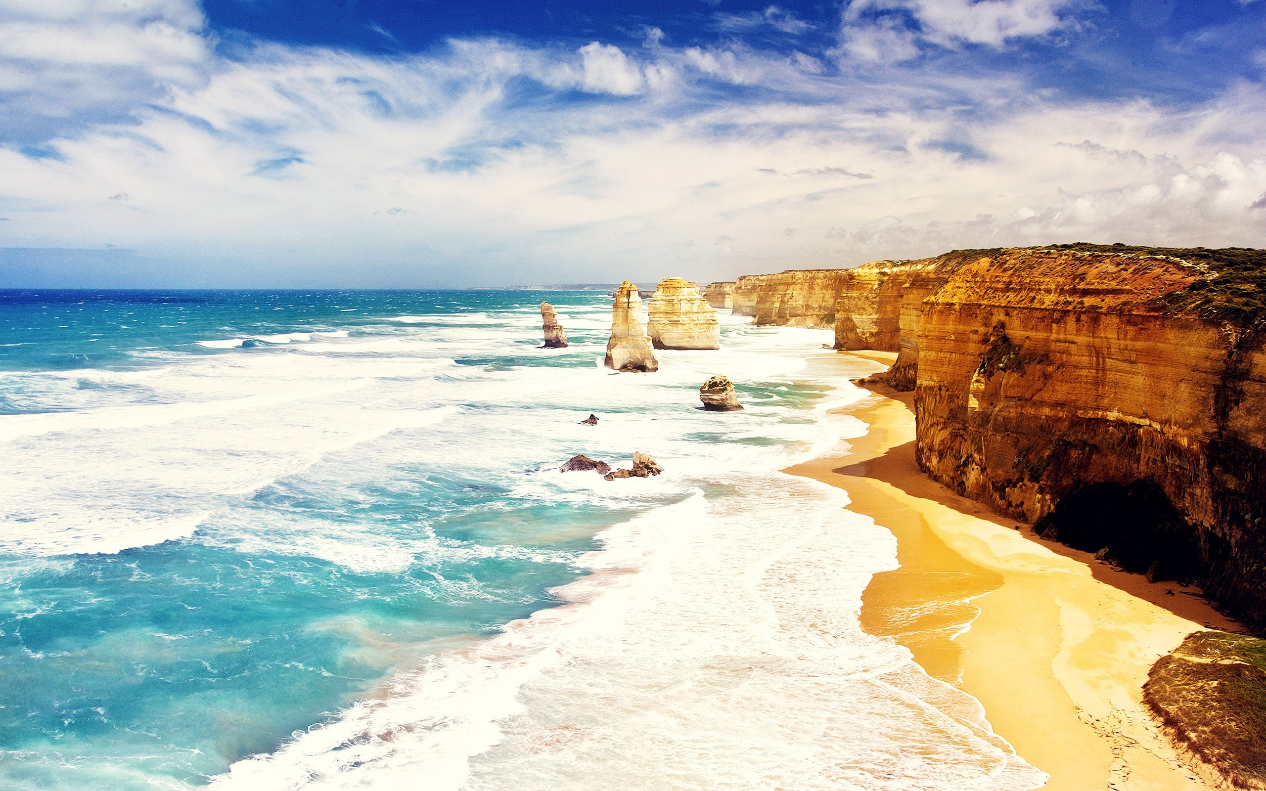Wallpaper The twelve Apostles in Australia