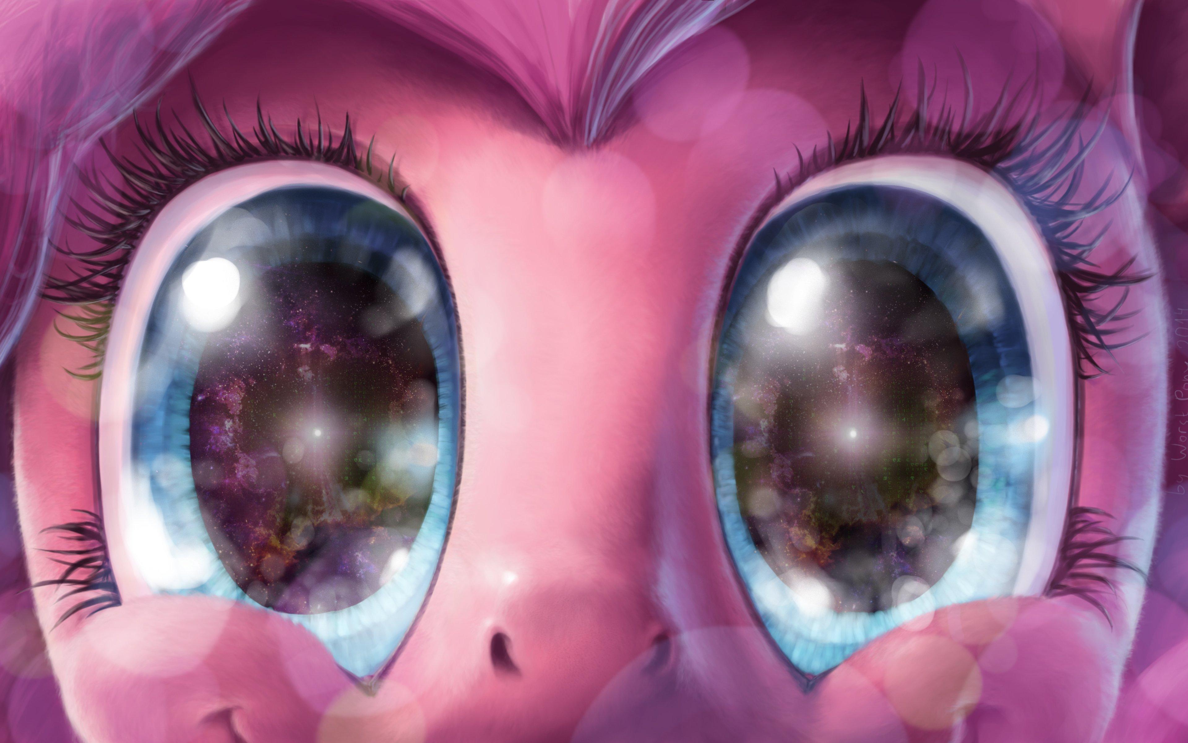 Fondos de pantalla Los ojos de un pony emocionado