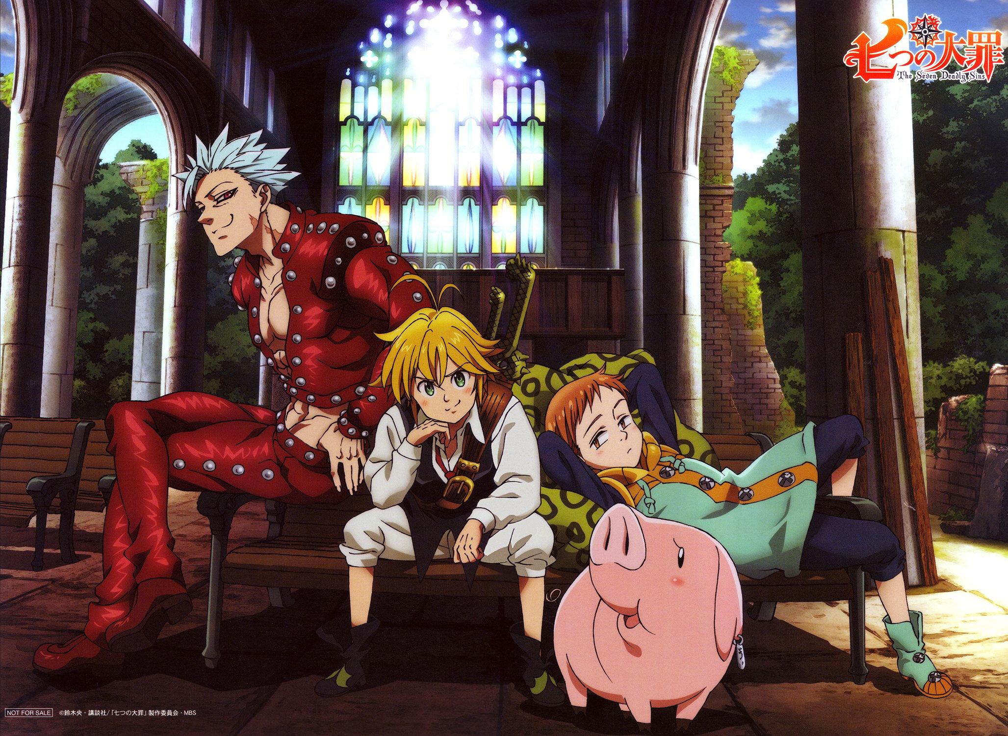 Fondos de pantalla Anime Los personajes de Los siete pecados capitales