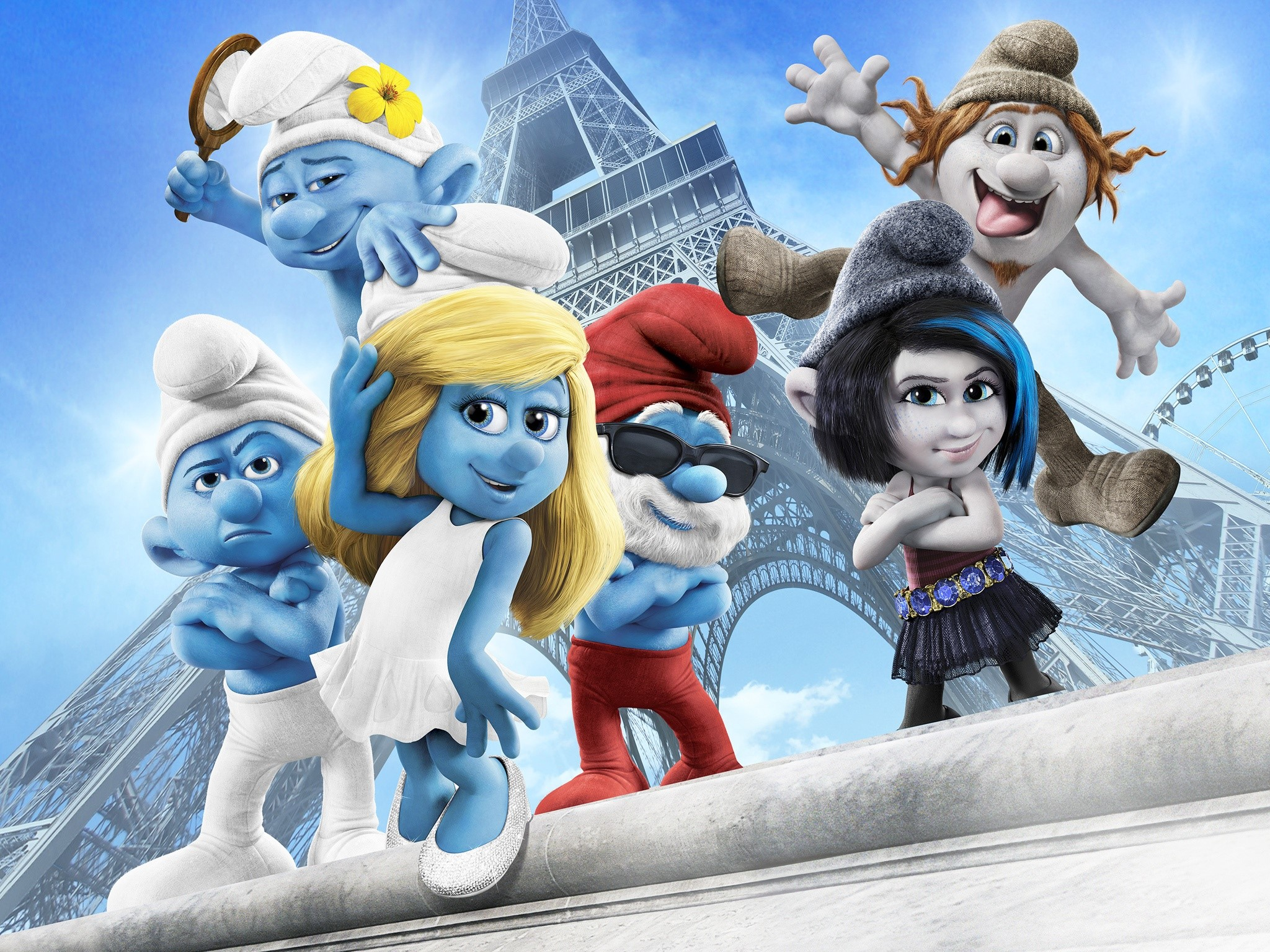 Wallpaper The Smurfs 2